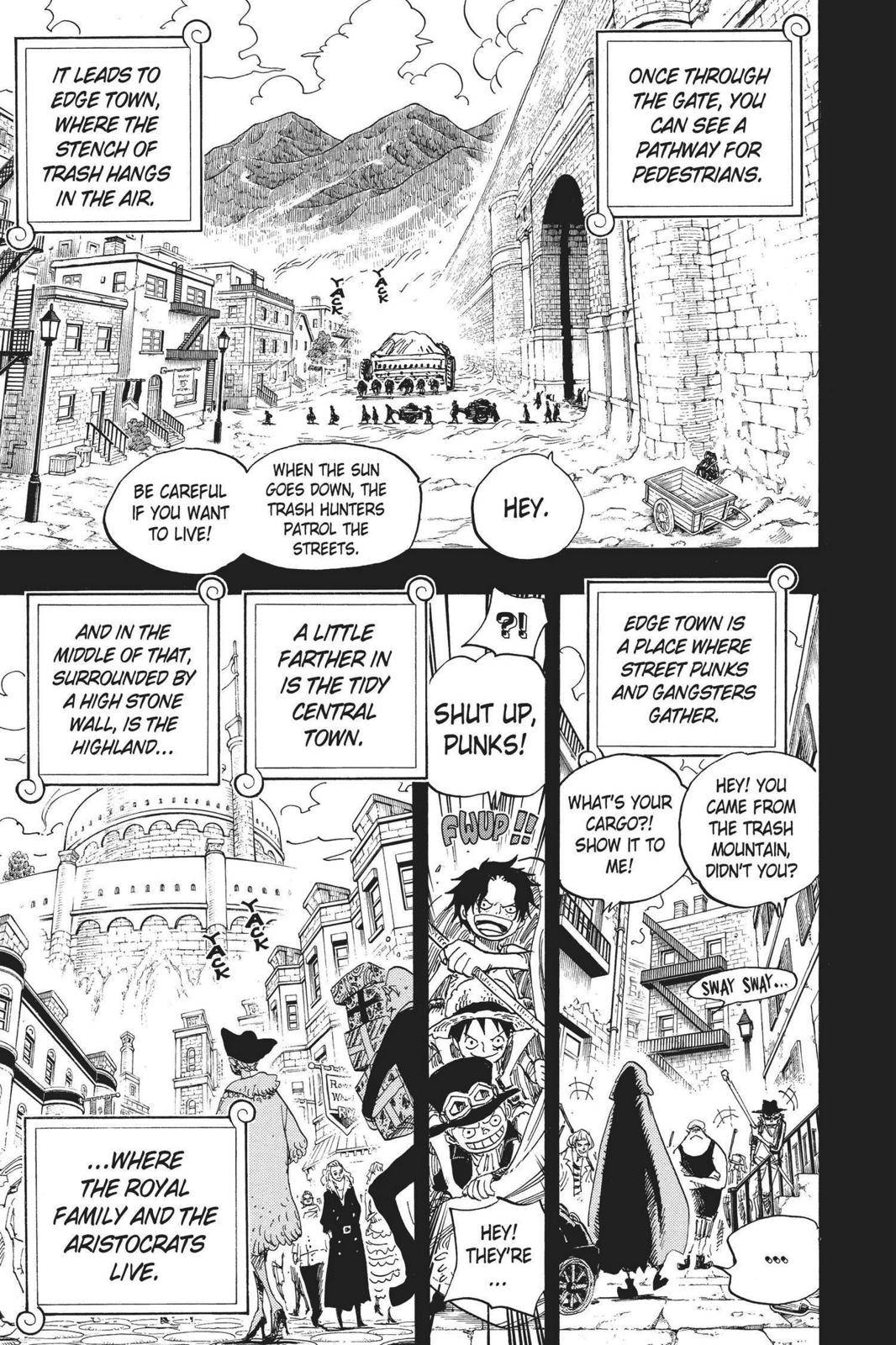 One Piece Chapter 585 Page 11