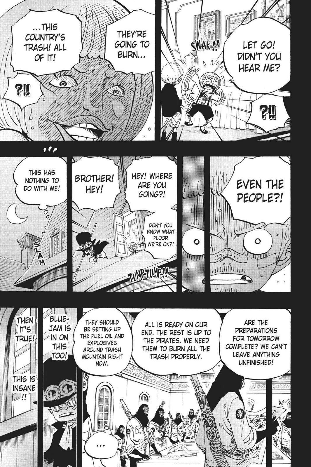 One Piece Chapter 586 Page 9