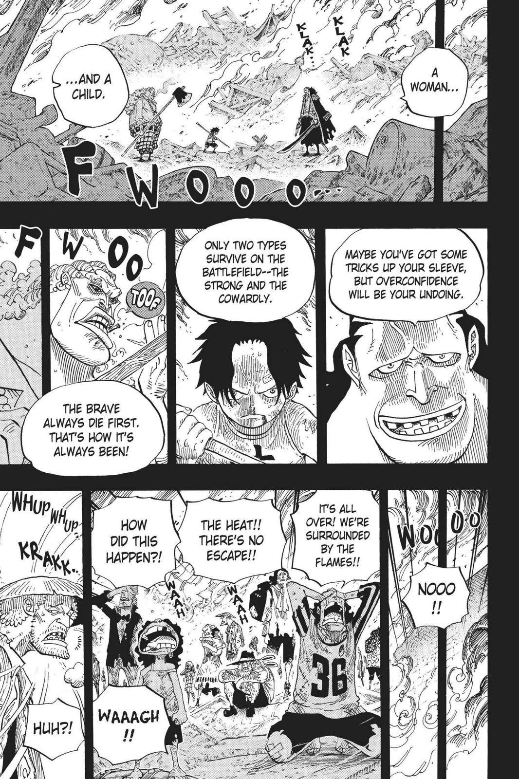 One Piece Chapter 587 Page 13