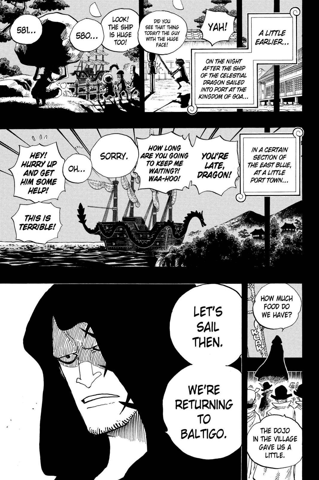 One Piece Chapter 589 Page 7