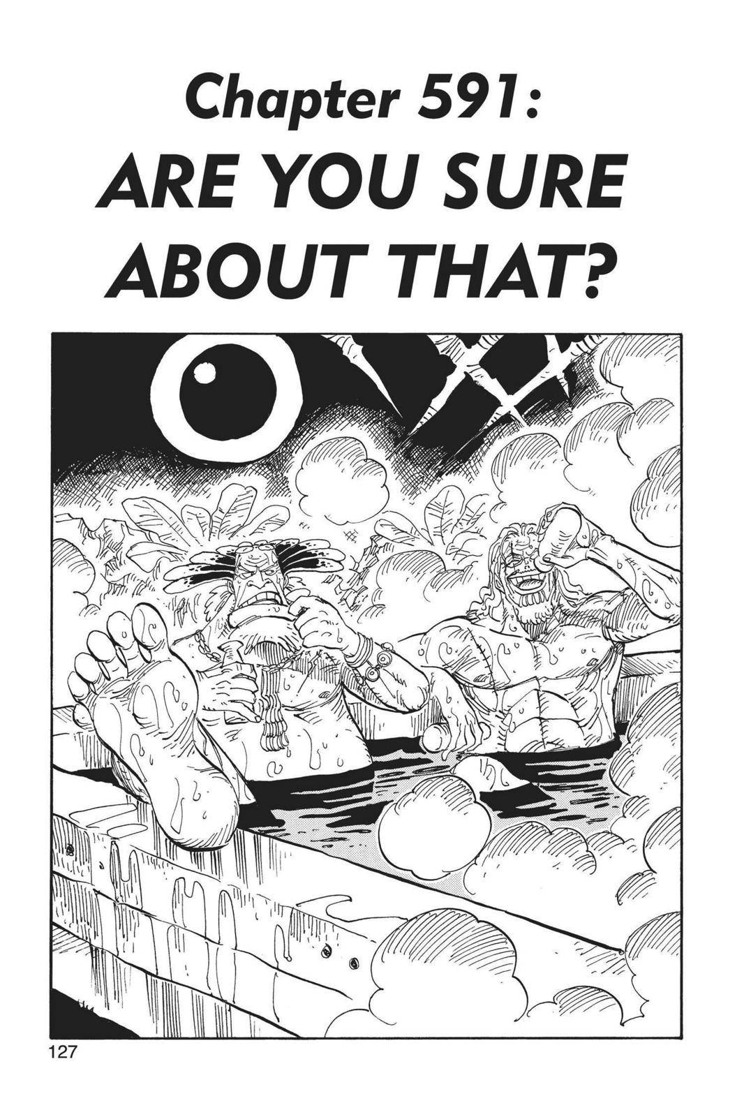 One Piece Chapter 591 Page 1