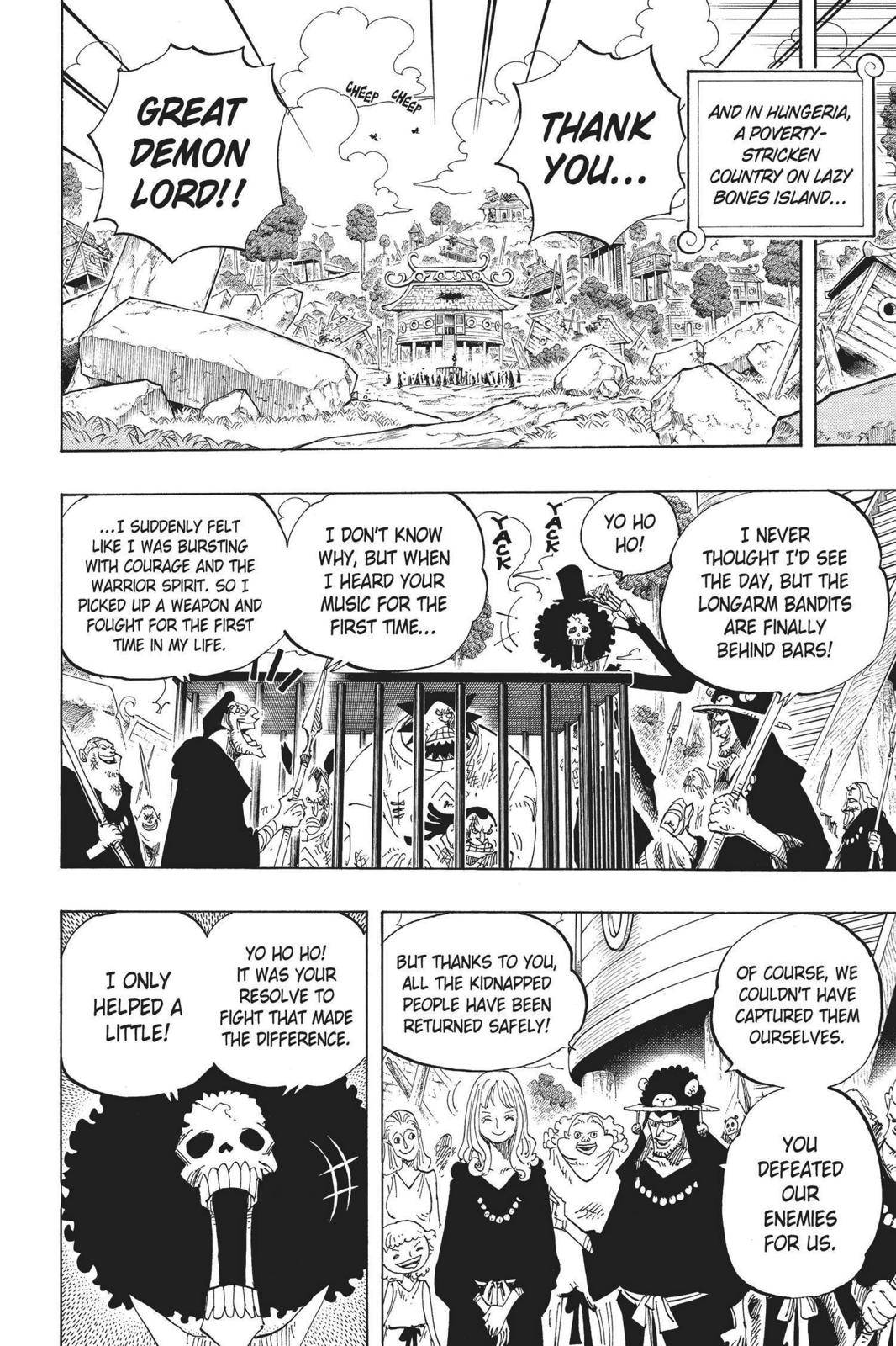 One Piece Chapter 592 Page 15