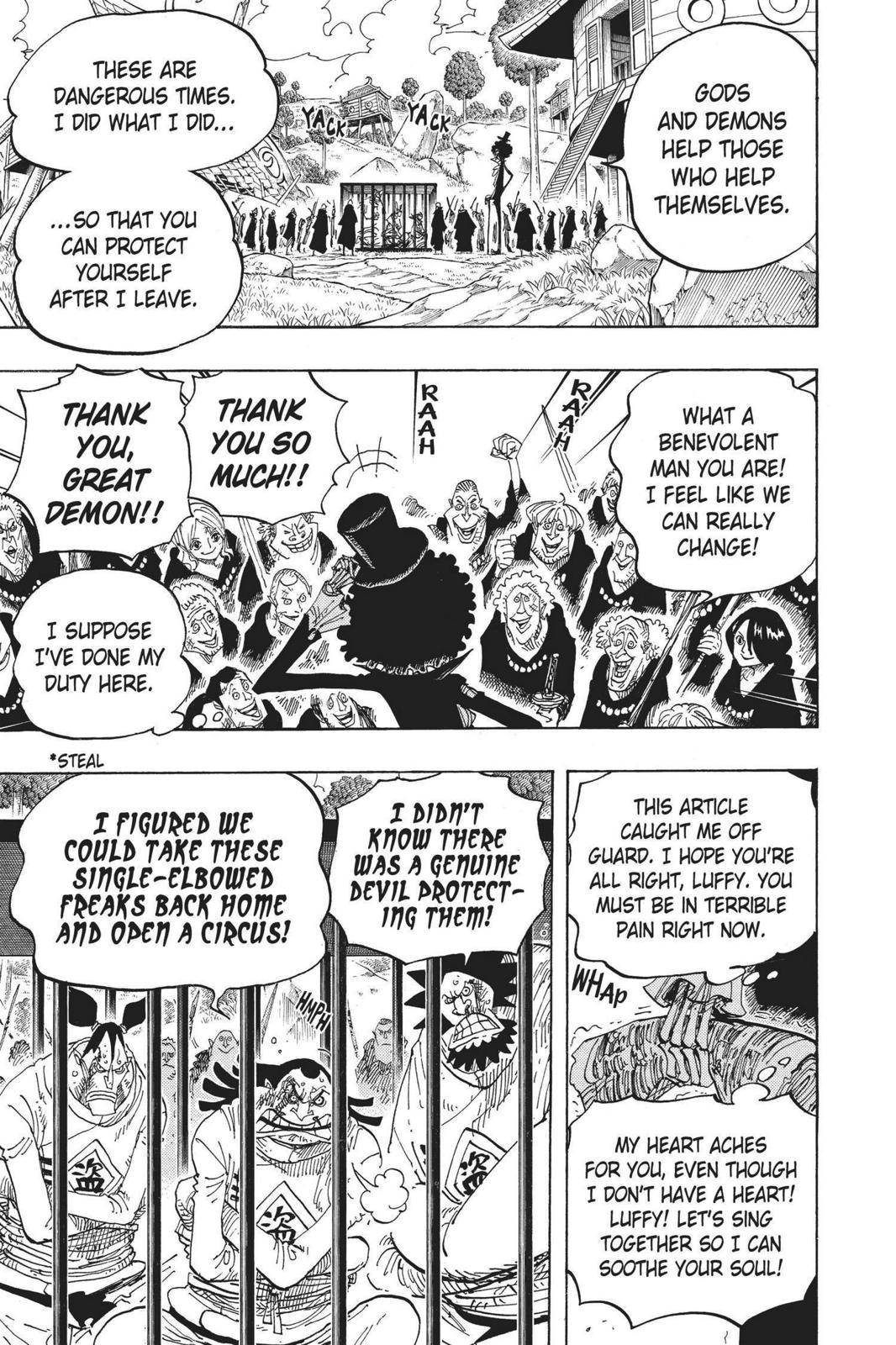 One Piece Chapter 592 Page 16