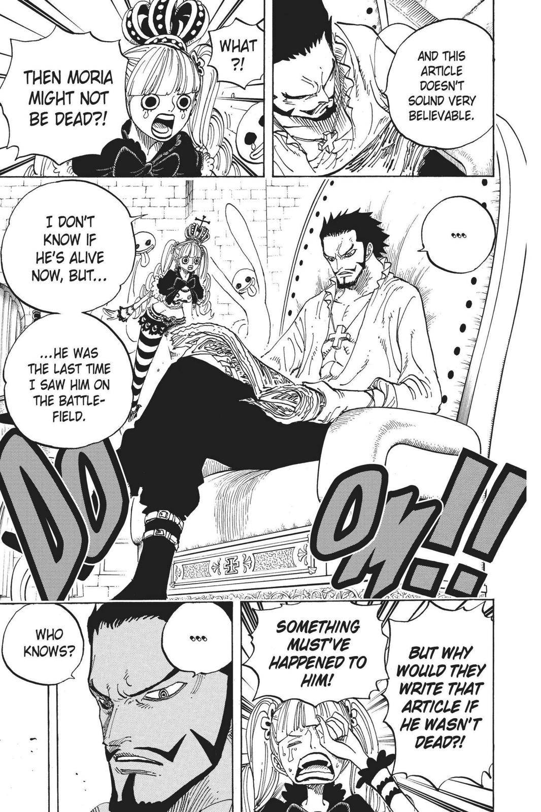 One Piece Chapter 592 Page 3