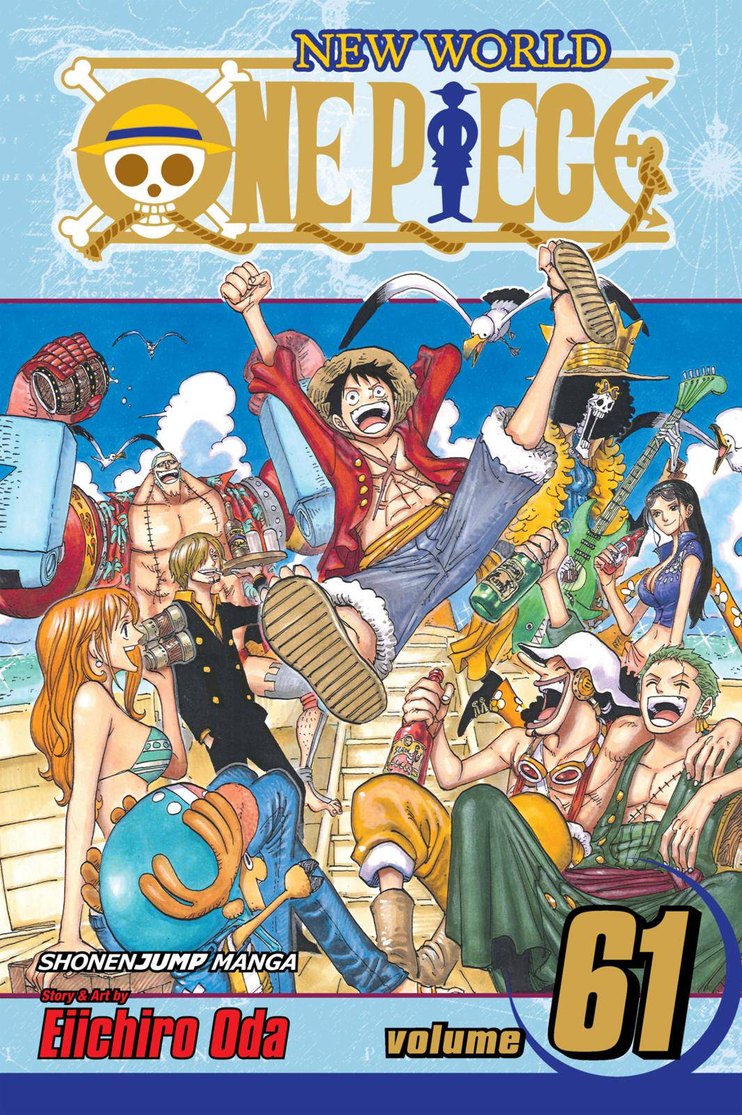 One Piece Chapter 595 Page 1