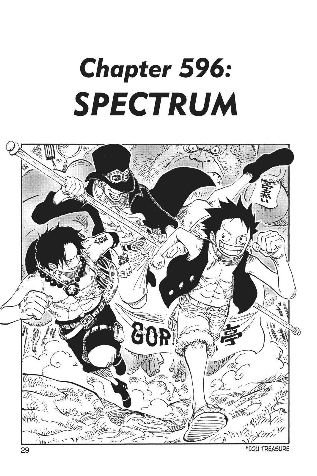 One Piece Chapter 596 Page 1