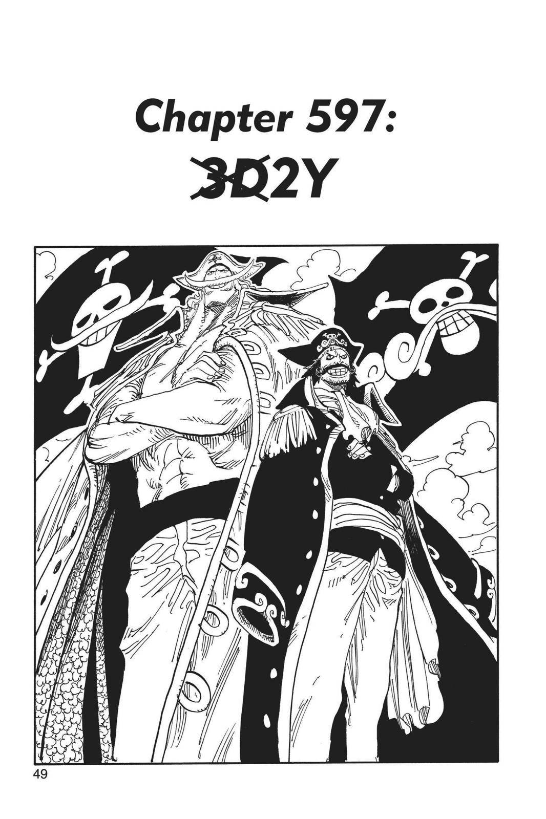 One Piece Chapter 597 Page 1