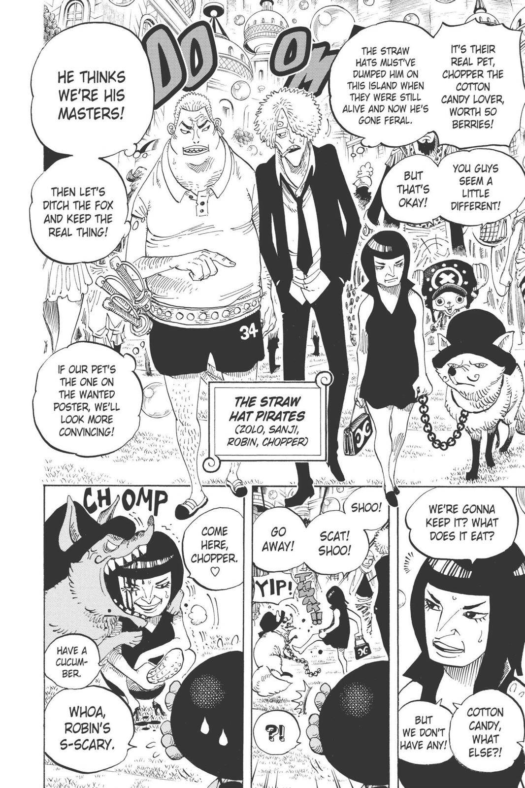 One Piece Chapter 598 Page 19