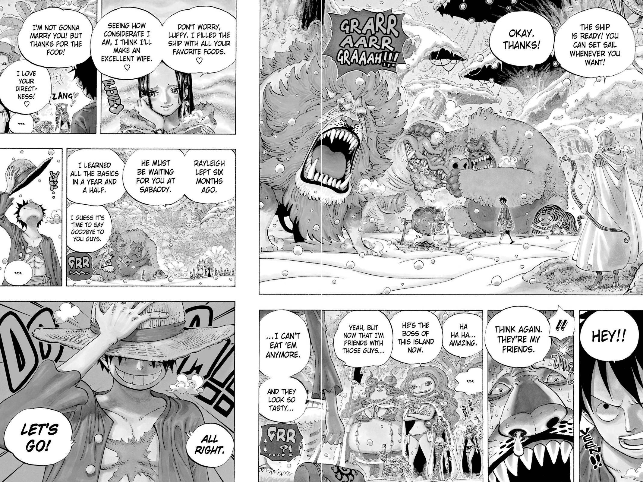 One Piece Chapter 598 Page 2