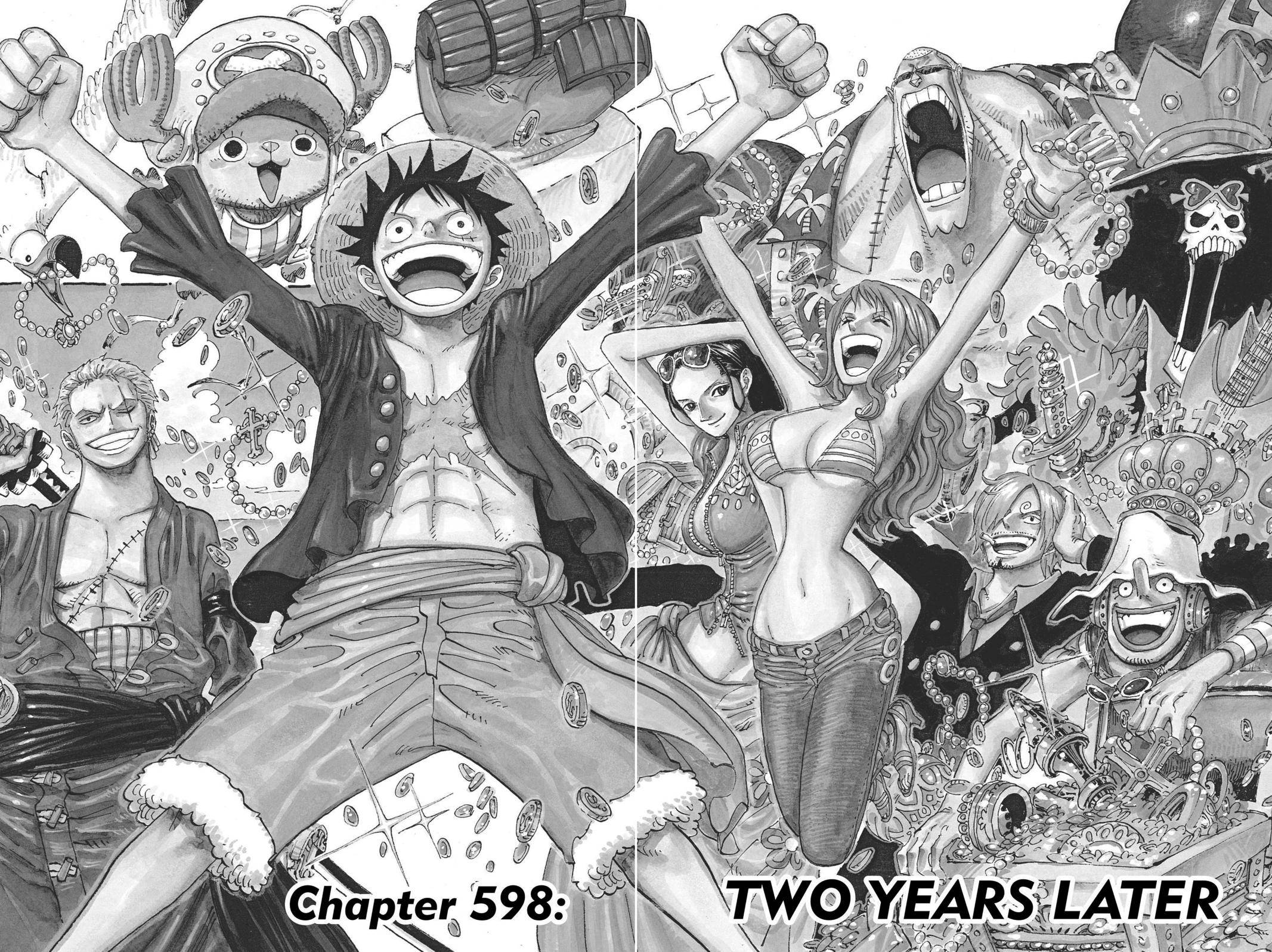 One Piece Chapter 598 Page 3