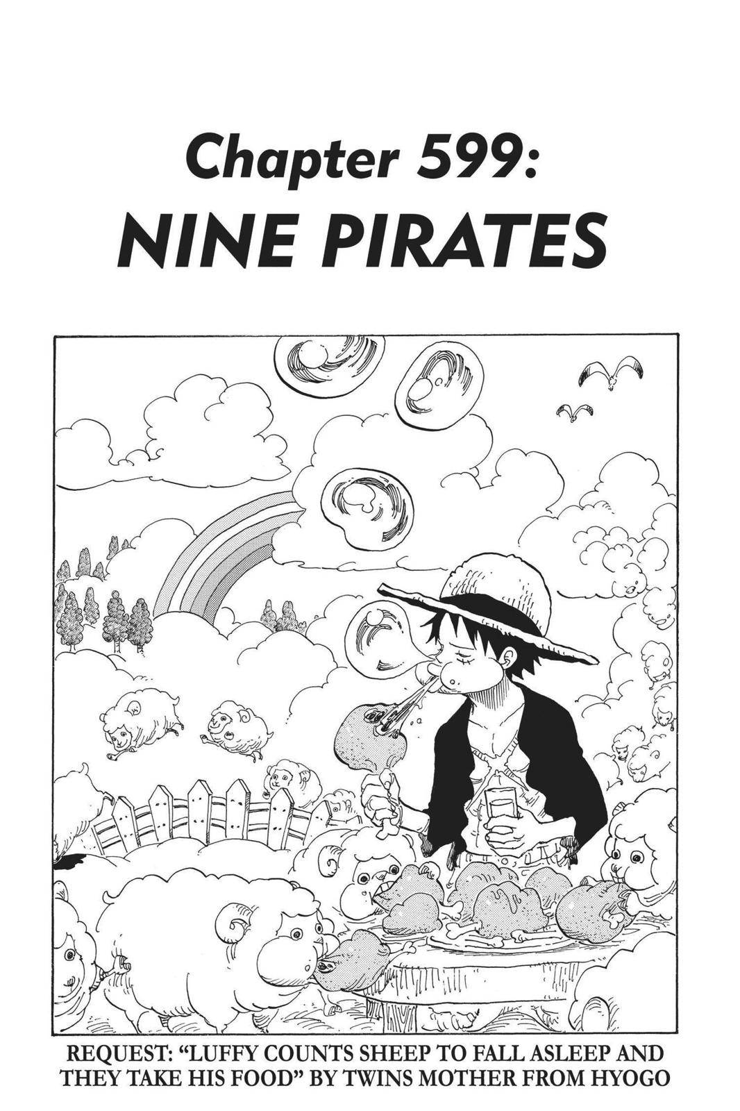 One Piece Chapter 599 Page 1