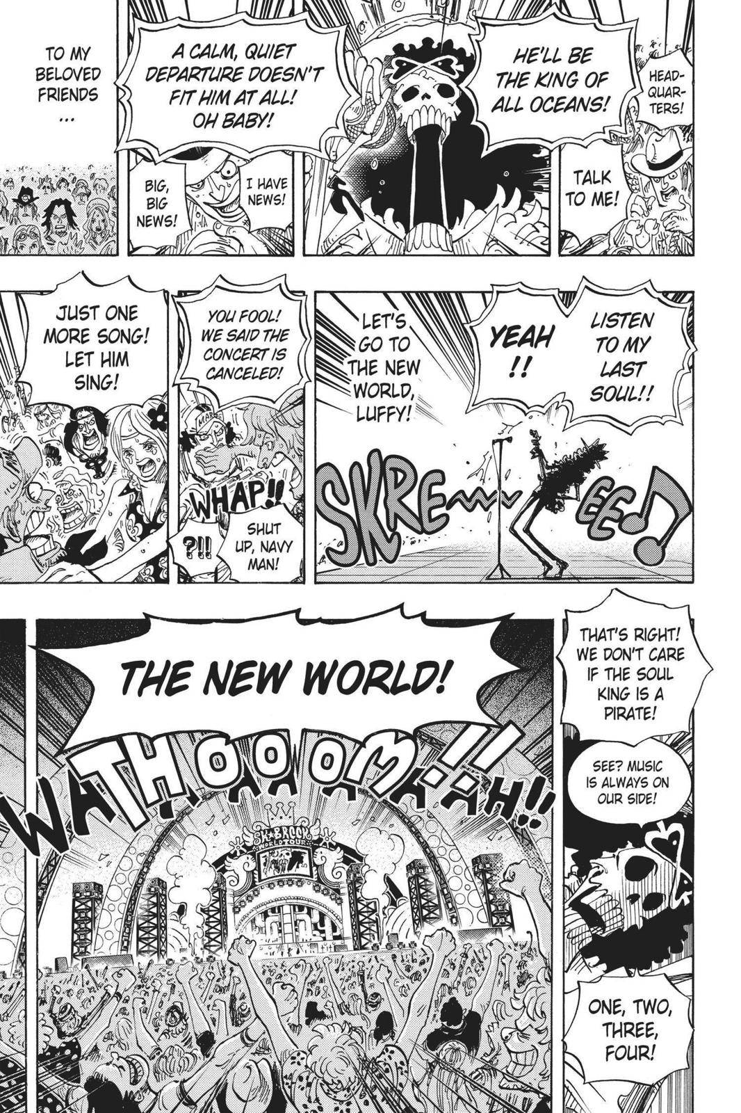 One Piece Chapter 600 Page 14