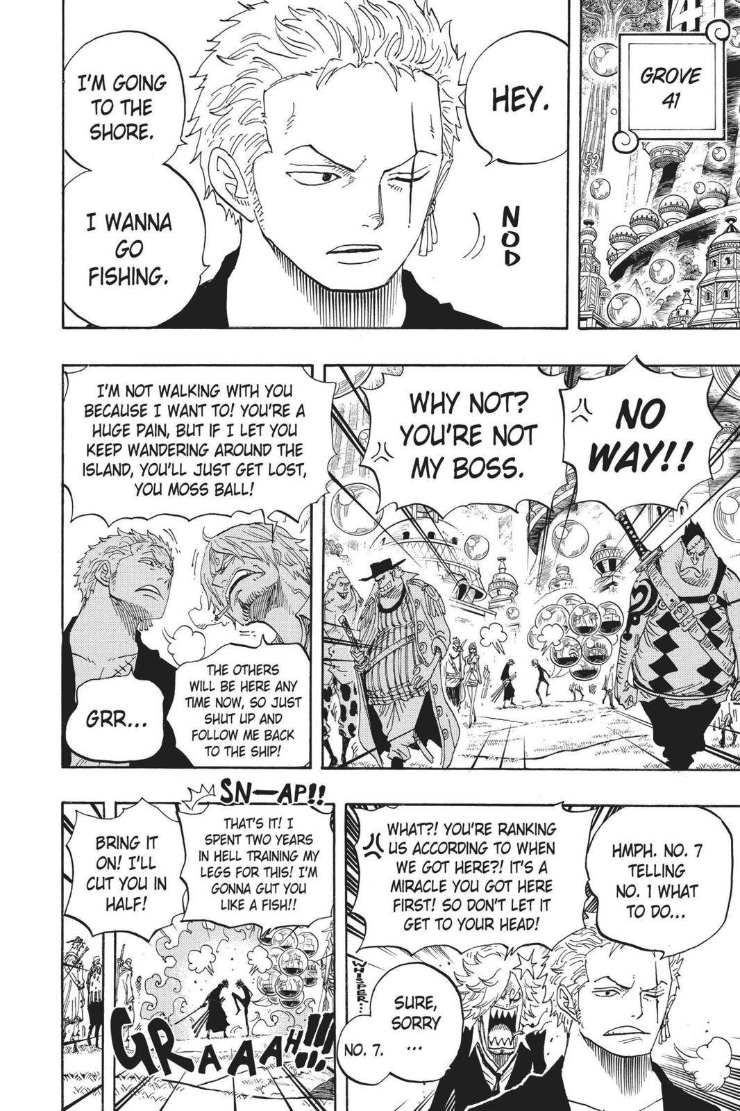 One Piece Chapter 600 Page 6