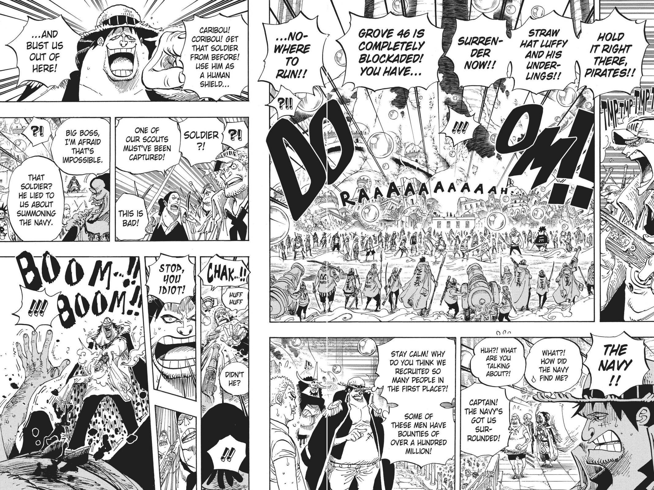 One Piece Chapter 601 Page 4