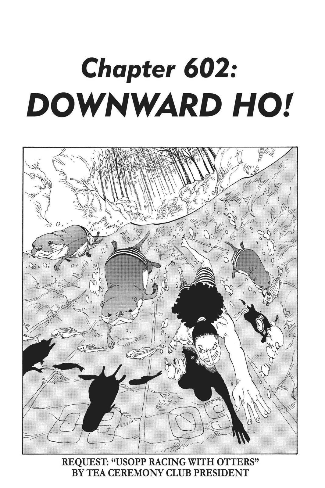 One Piece Chapter 602 Page 1