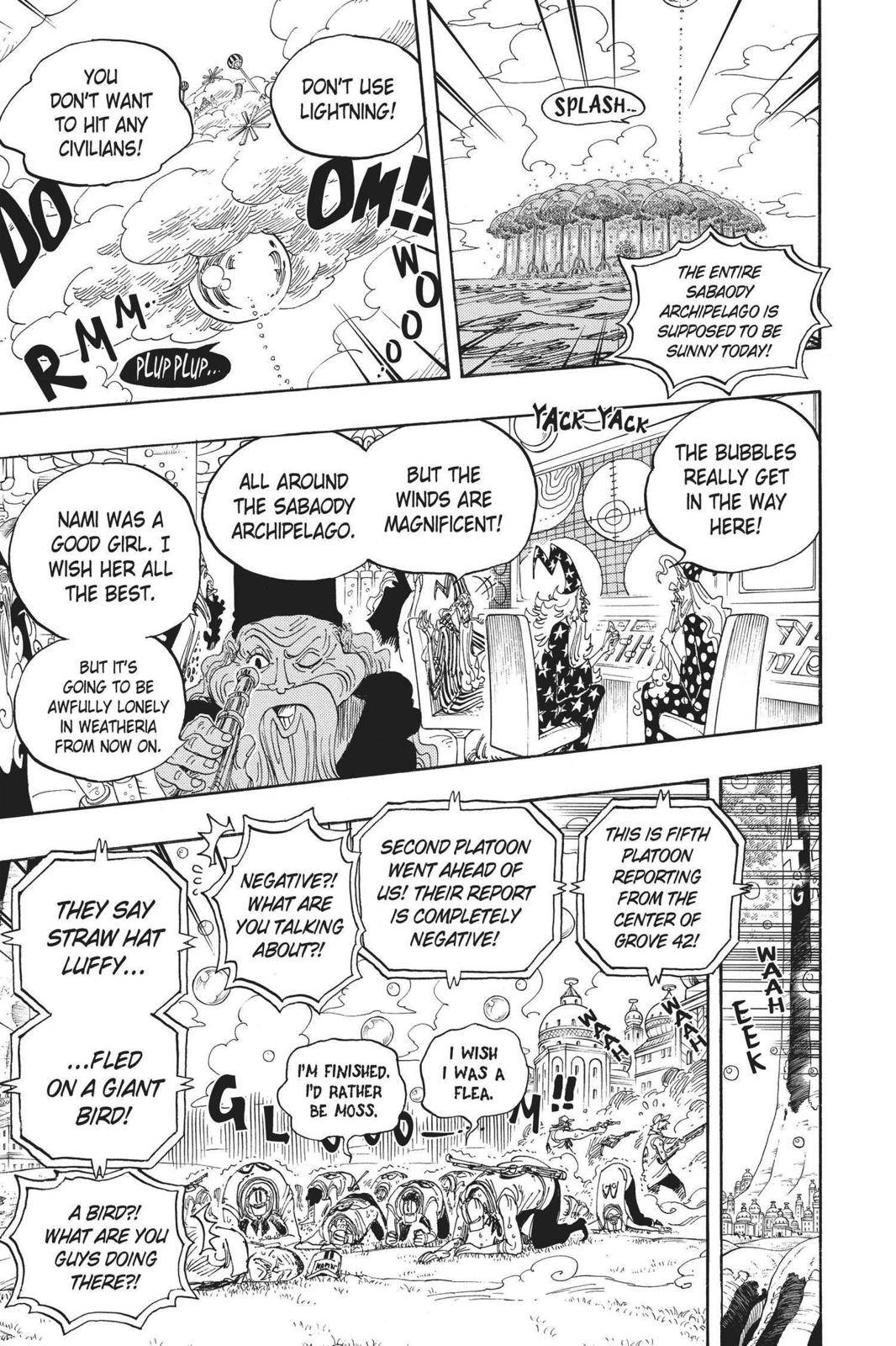 One Piece Chapter 602 Page 12