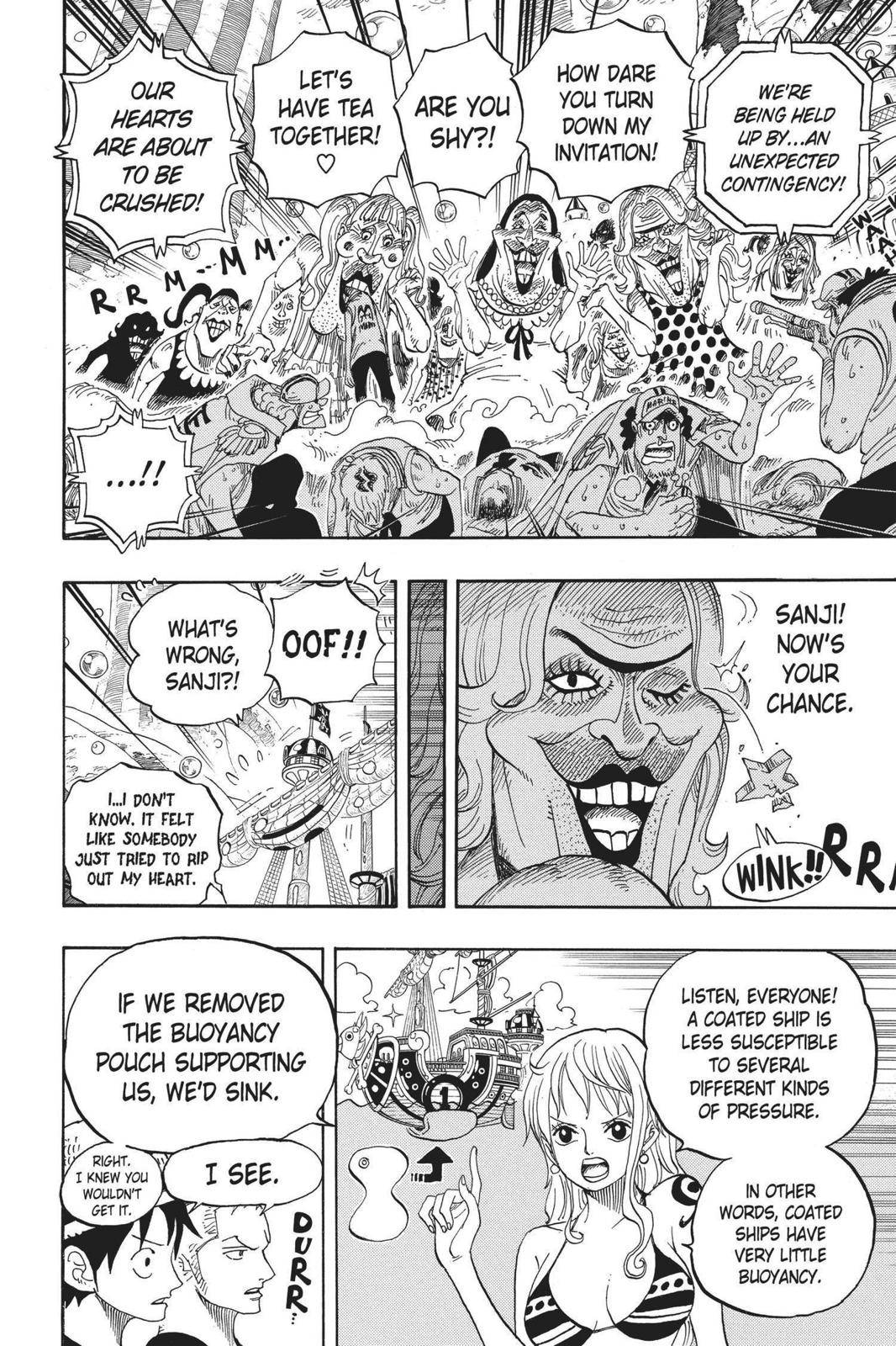 One Piece Chapter 602 Page 13