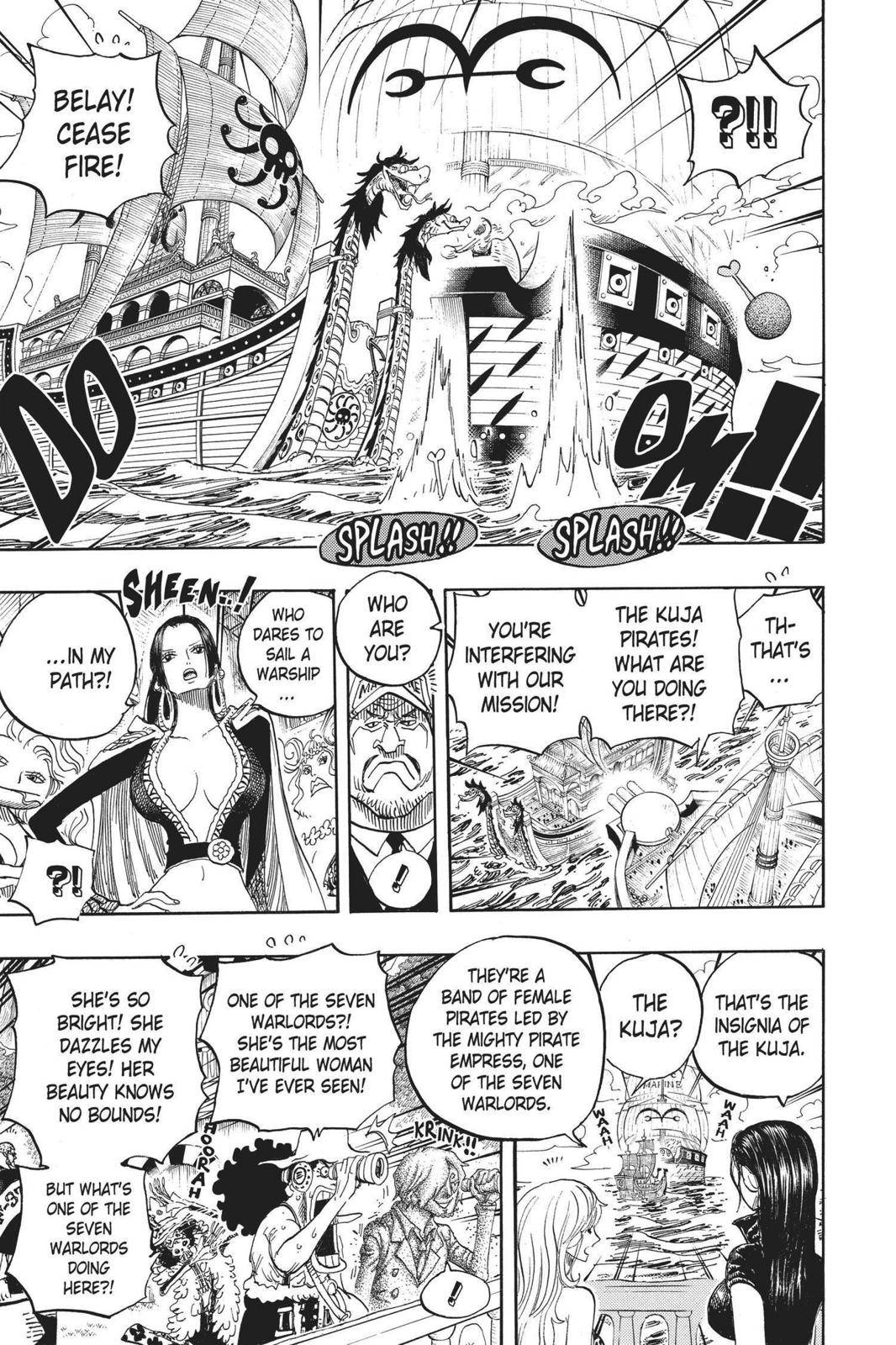 One Piece Chapter 602 Page 8