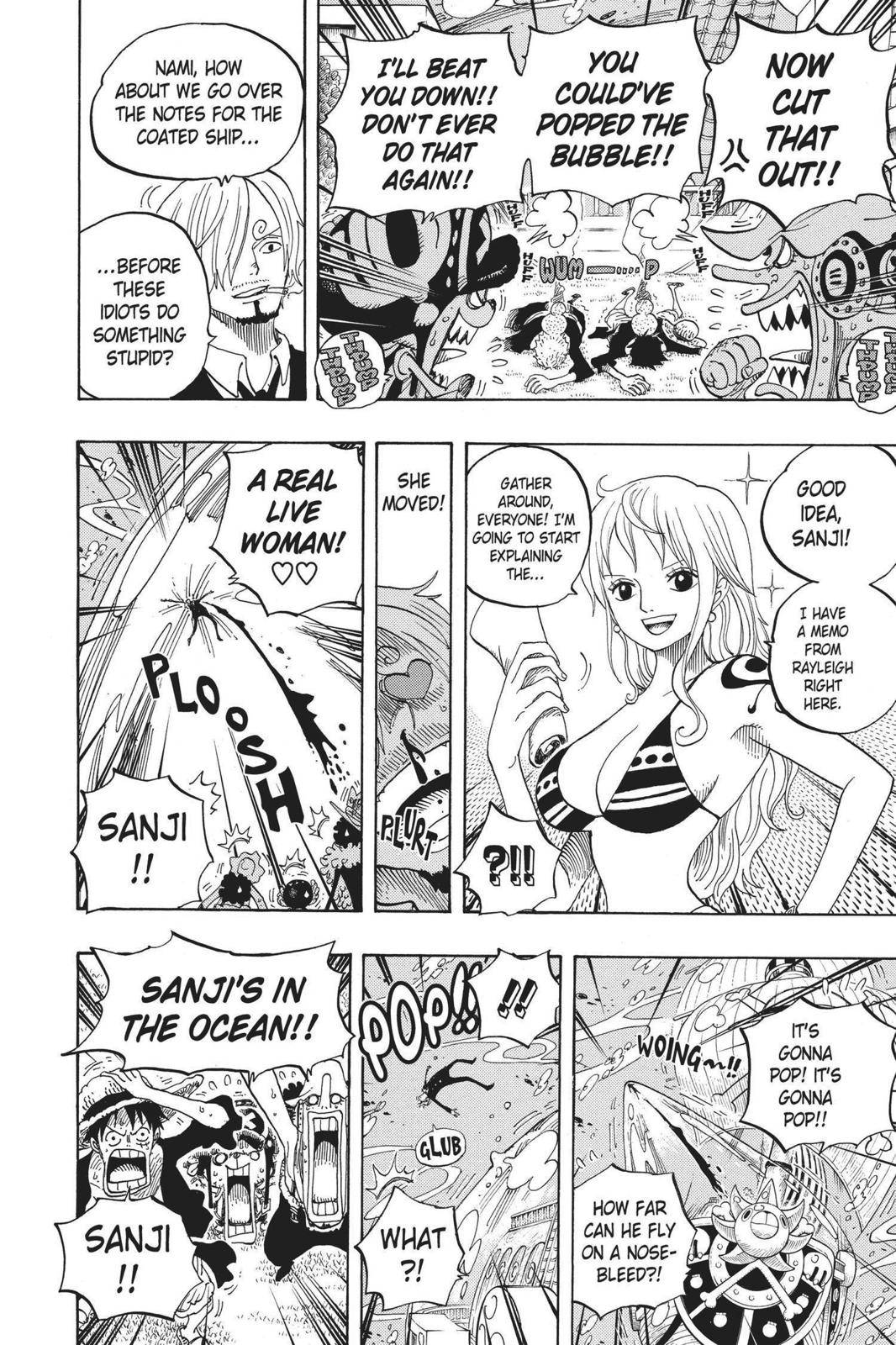 One Piece Chapter 603 Page 9