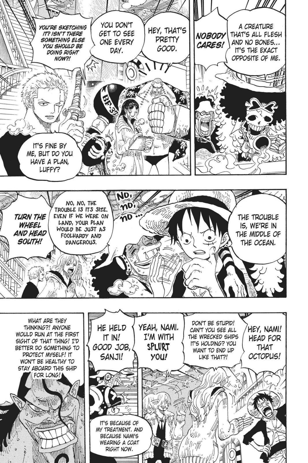 One Piece Chapter 605 Page 3