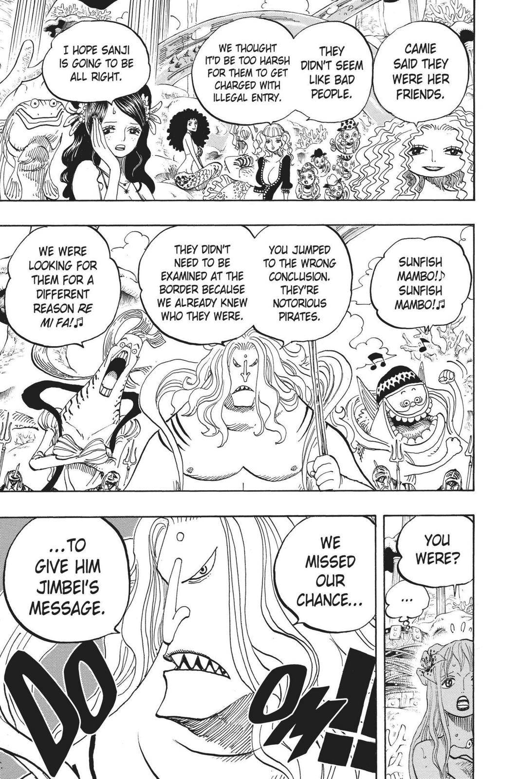 One Piece Chapter 609 Page 17