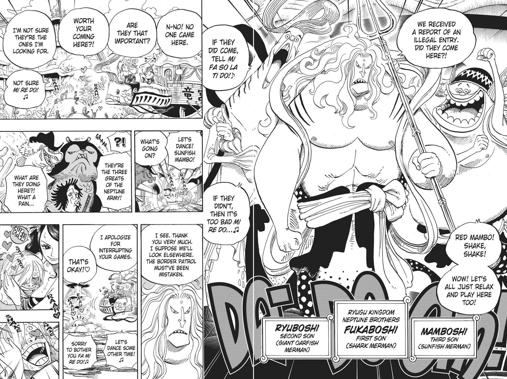 One Piece Chapter 609 Page 7
