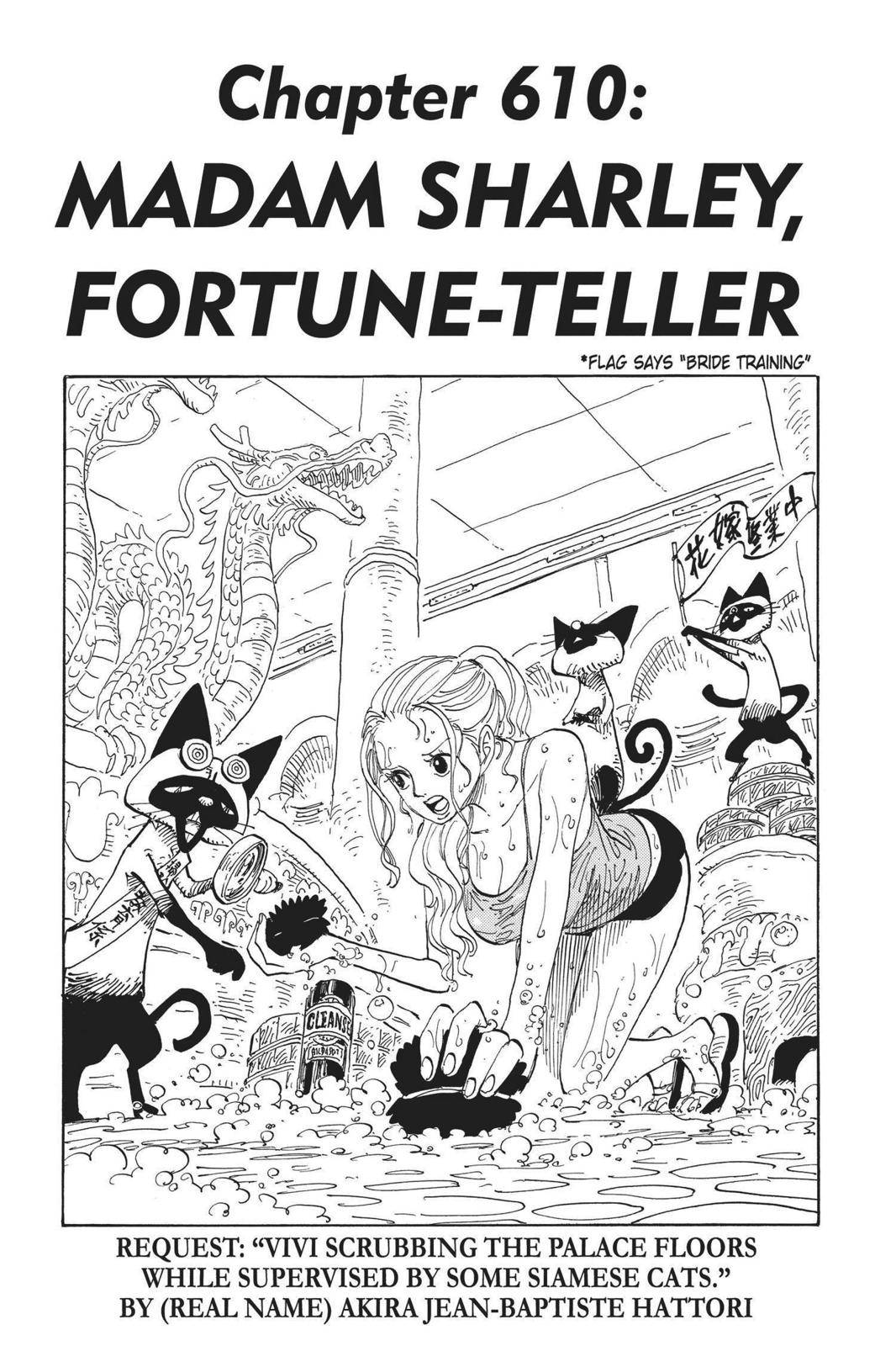 One Piece Chapter 610 Page 1