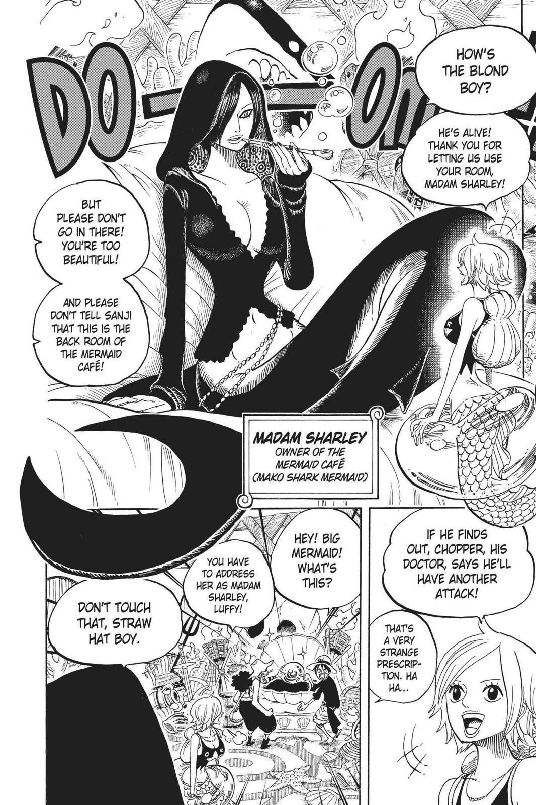 One Piece Chapter 610 Page 6