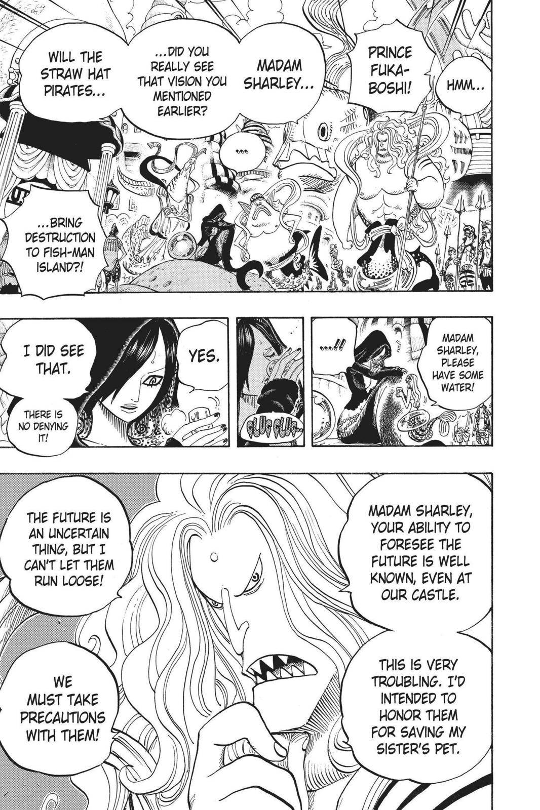 One Piece Chapter 612 Page 7