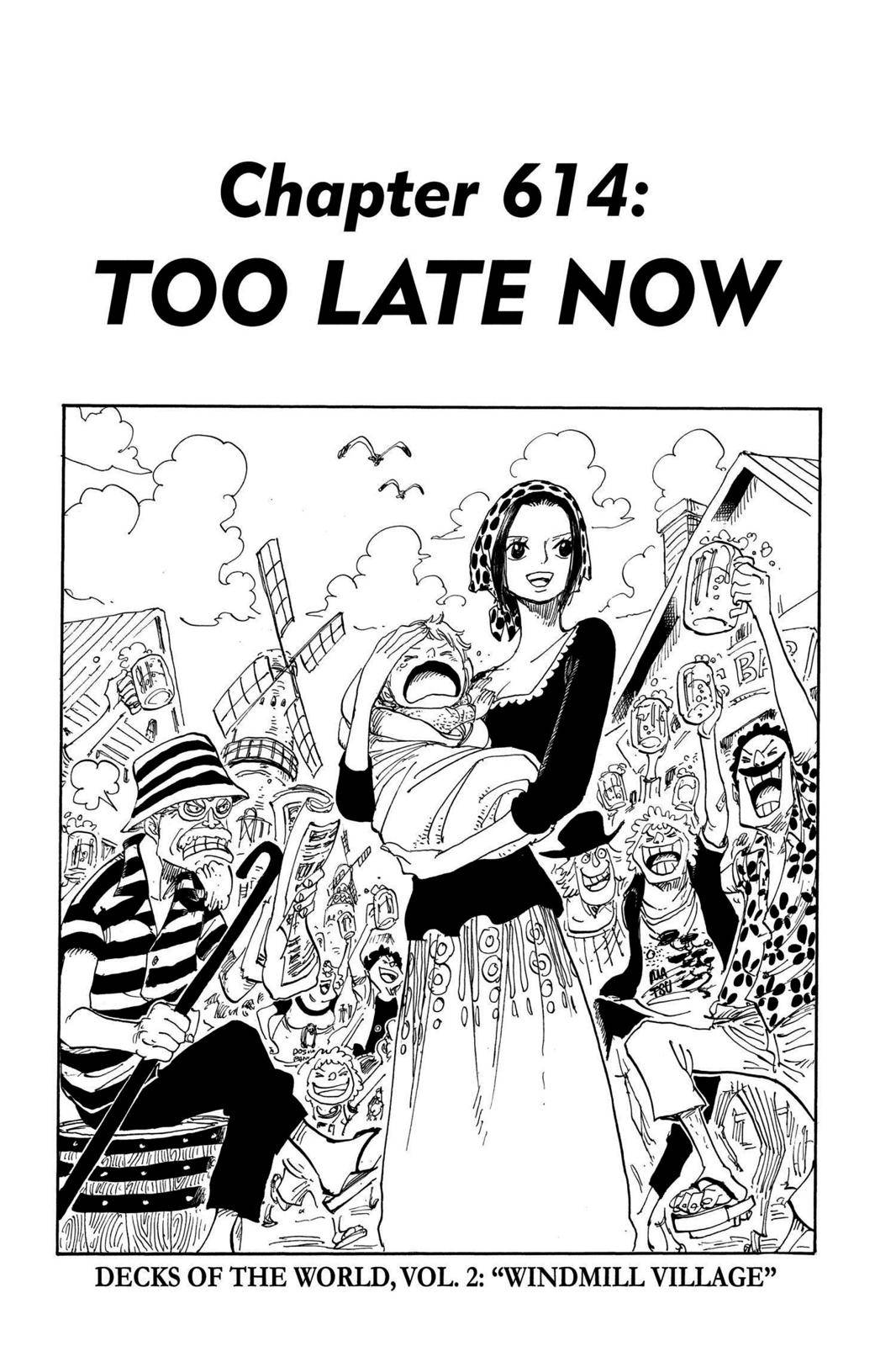 One Piece Chapter 614 Page 1