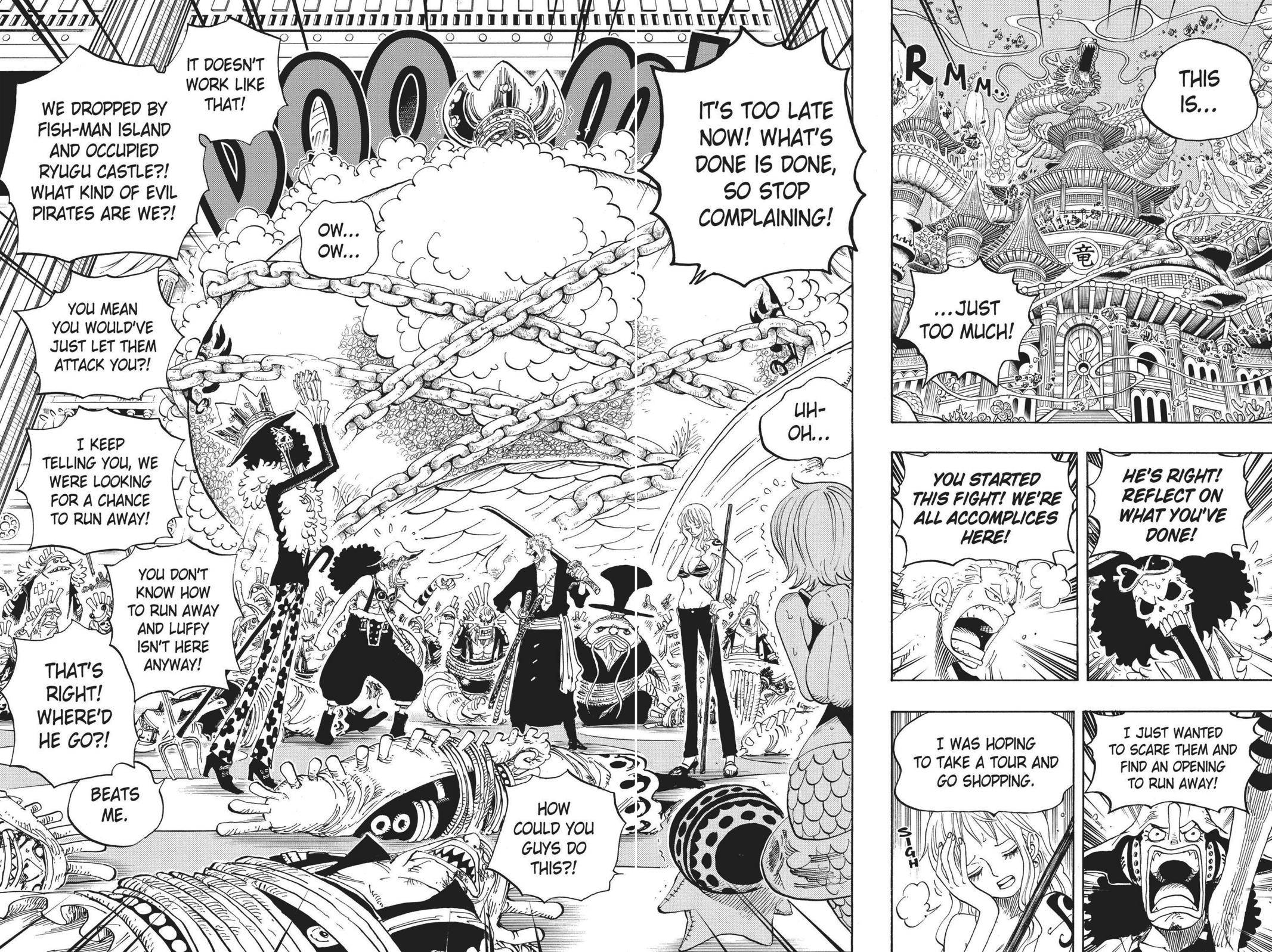 One Piece Chapter 614 Page 2