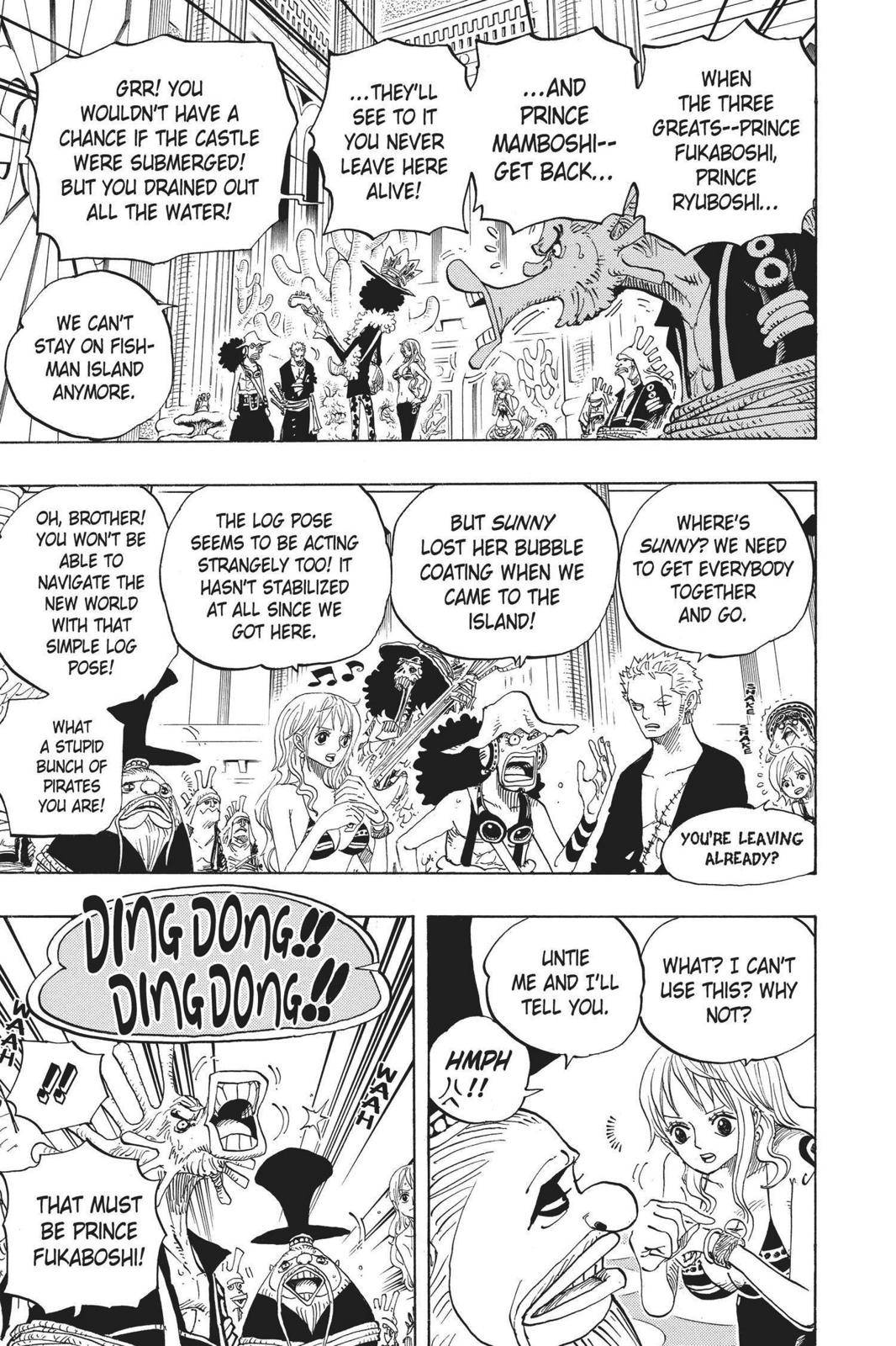 One Piece Chapter 614 Page 4