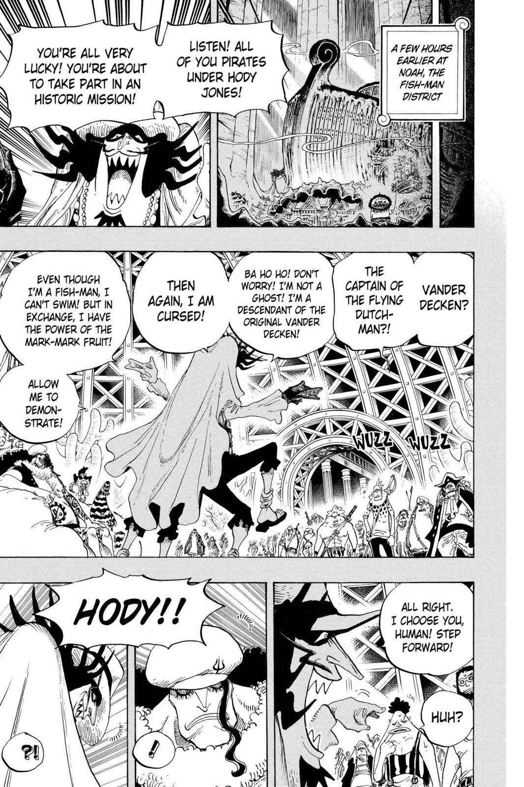 One Piece Chapter 615 Page 13