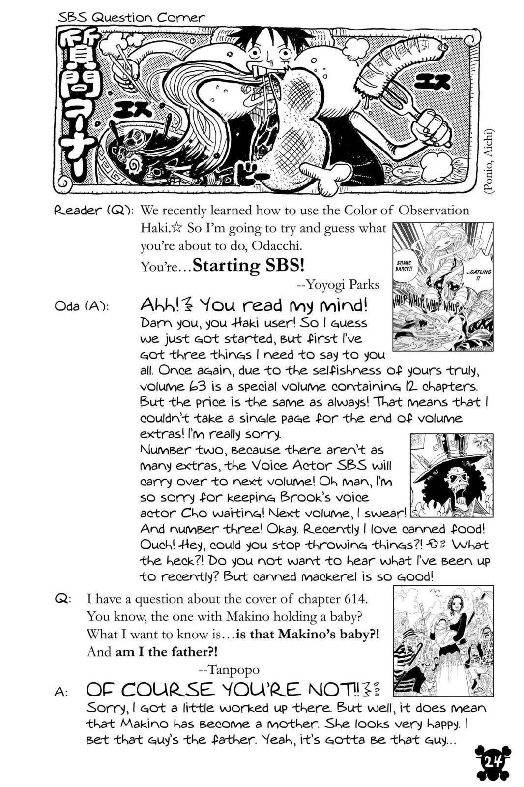 One Piece Chapter 615 Page 24