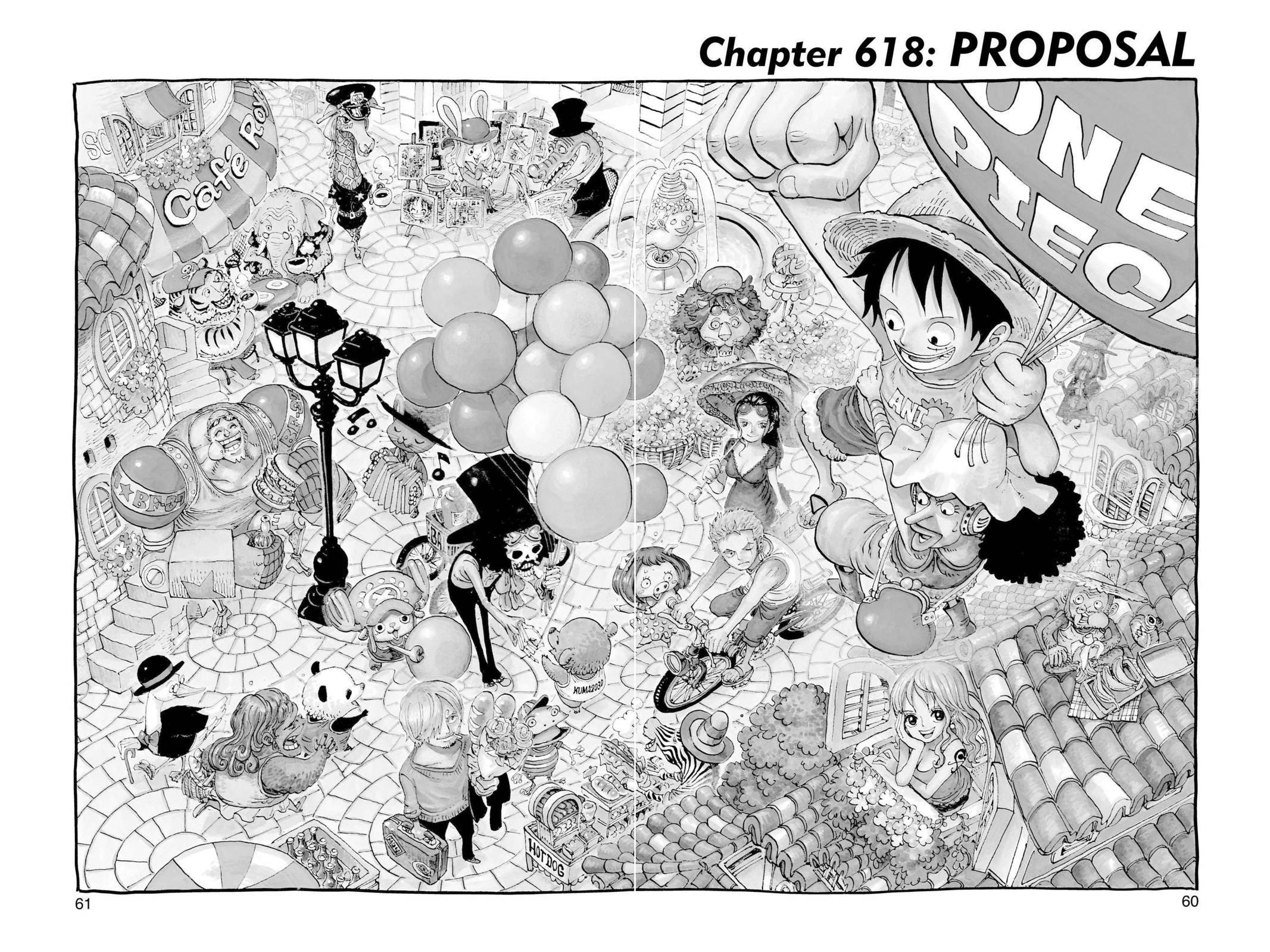 One Piece Chapter 618 Page 1