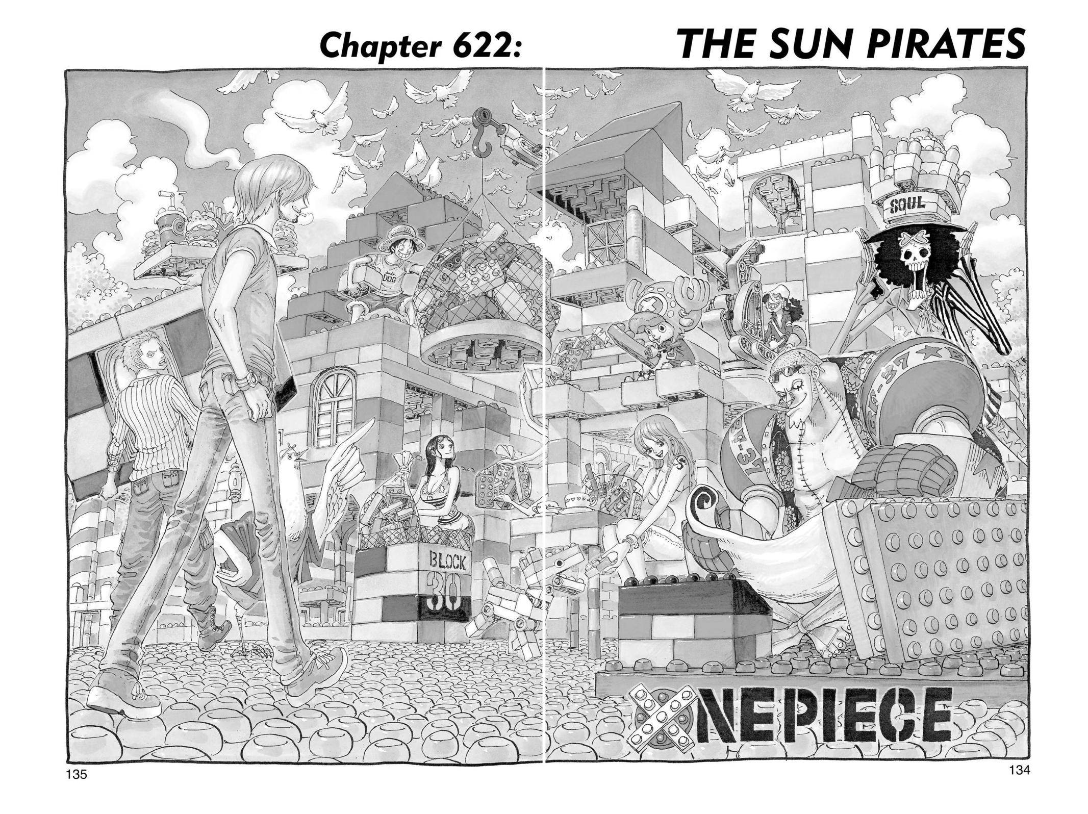 One Piece Chapter 622 Page 1