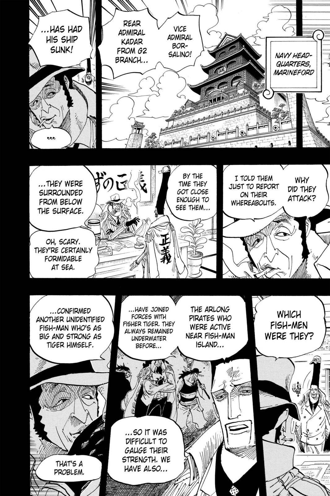 One Piece Chapter 622 Page 10
