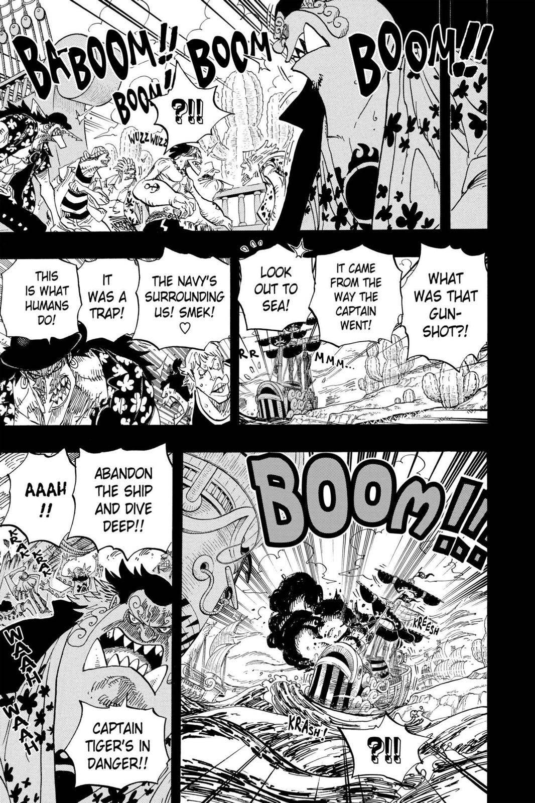One Piece Chapter 623 Page 11