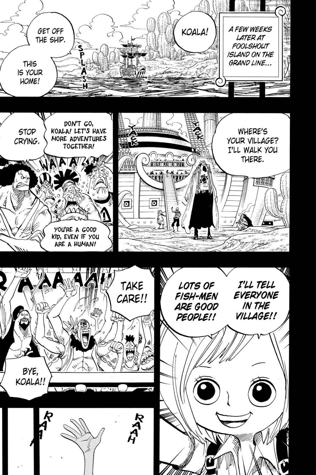 One Piece Chapter 623 Page 7