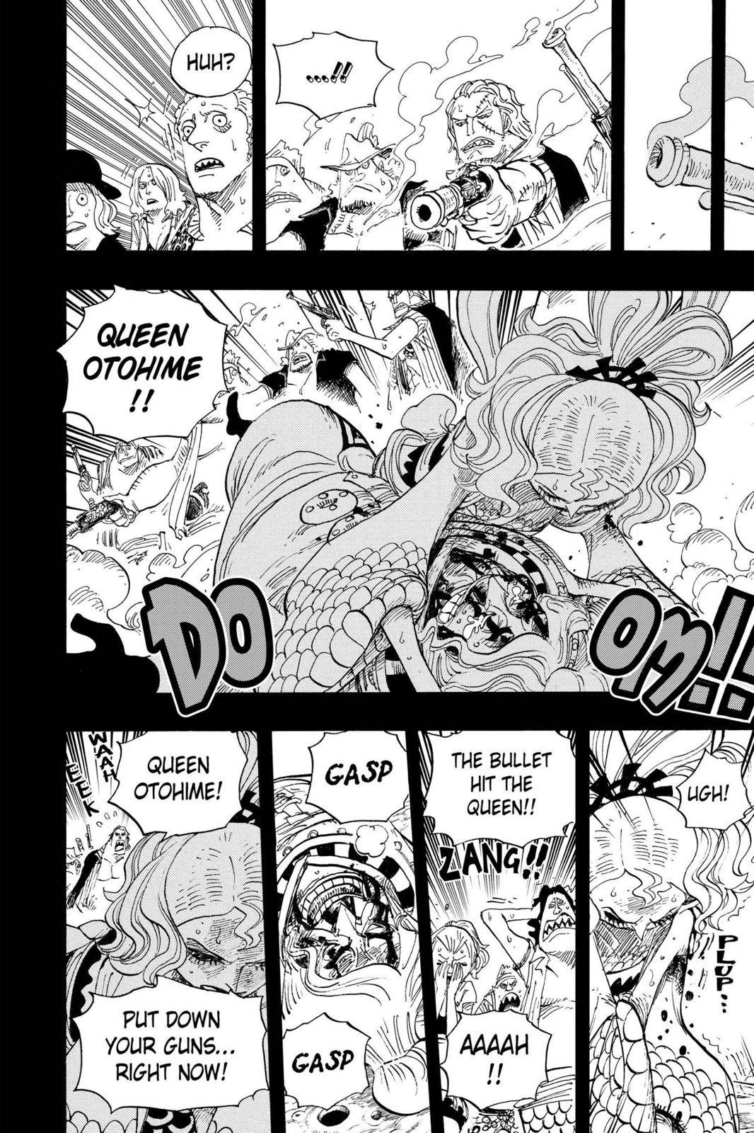 One Piece Chapter 625 Page 8