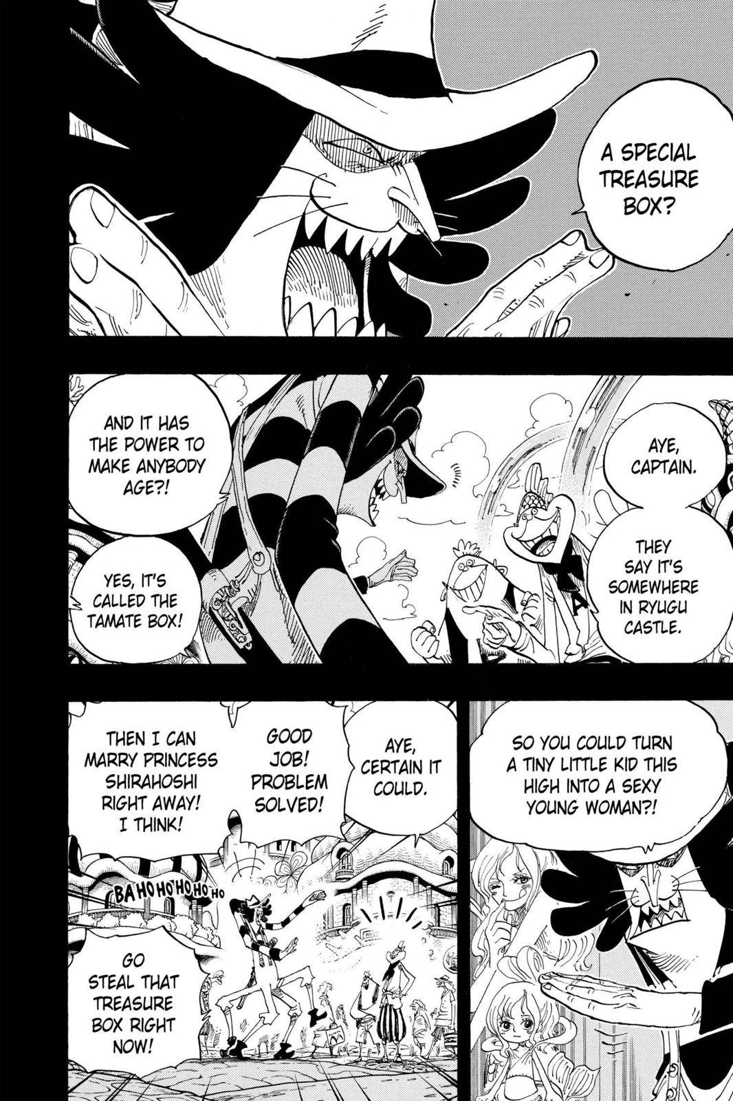 One Piece Chapter 626 Page 2
