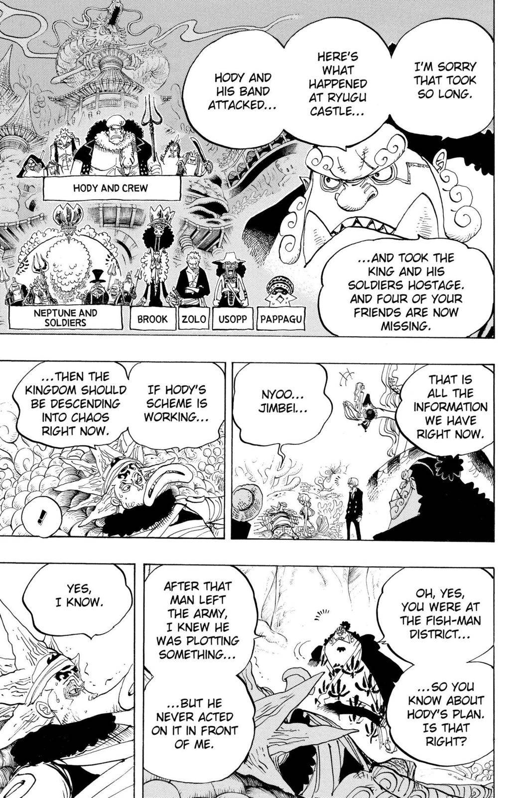 One Piece Chapter 627 Page 22