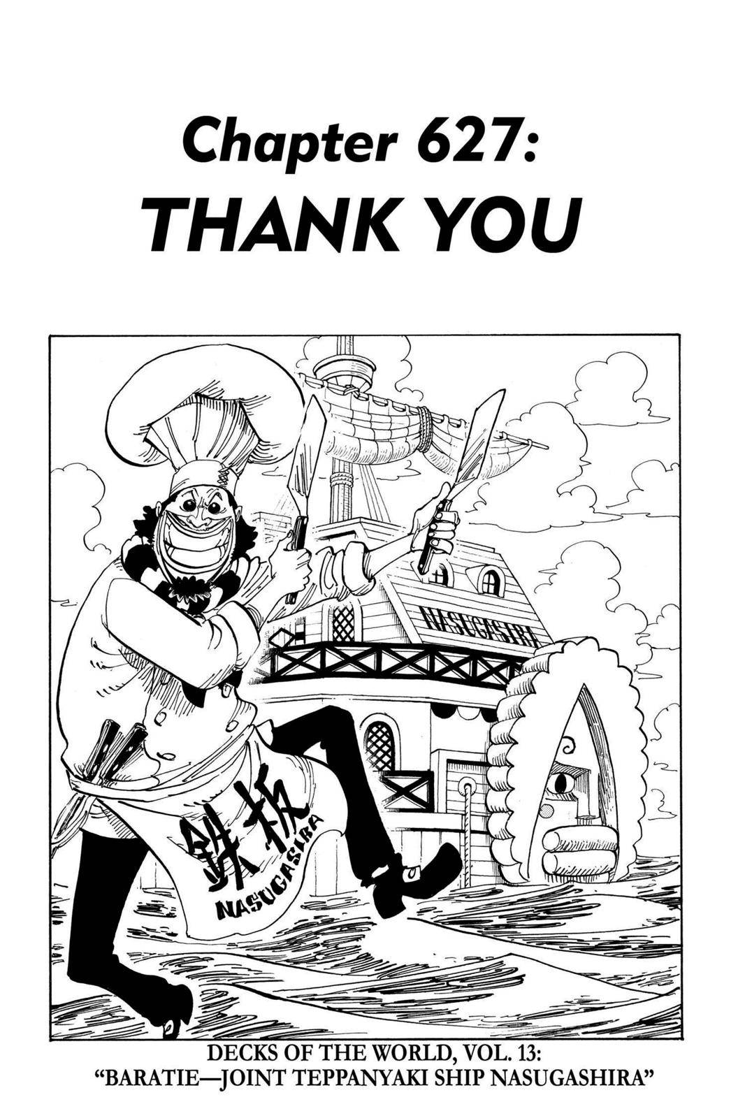 One Piece Chapter 627 Page 7