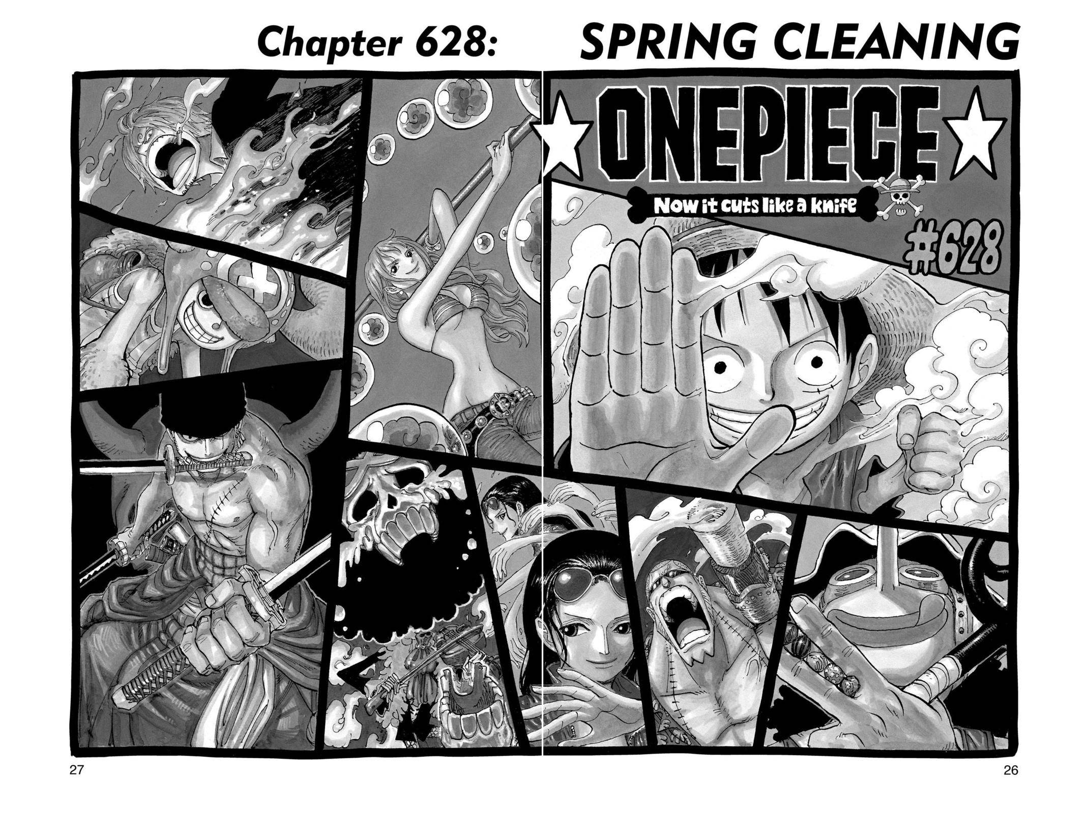 One Piece Chapter 628 Page 1
