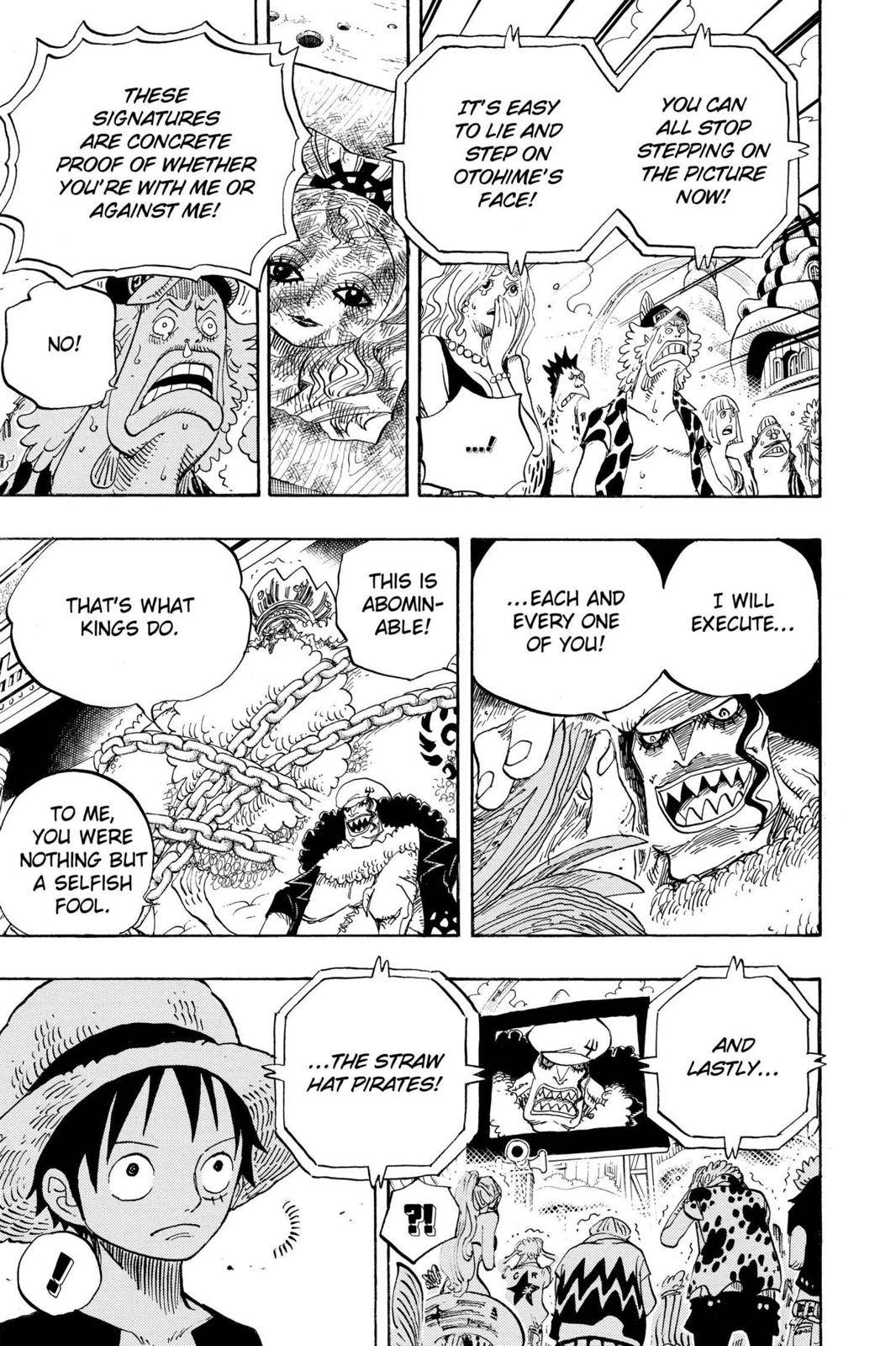 One Piece Chapter 628 Page 11