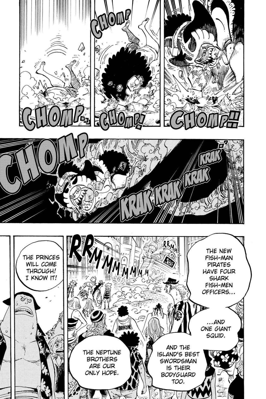 One Piece Chapter 629 Page 16