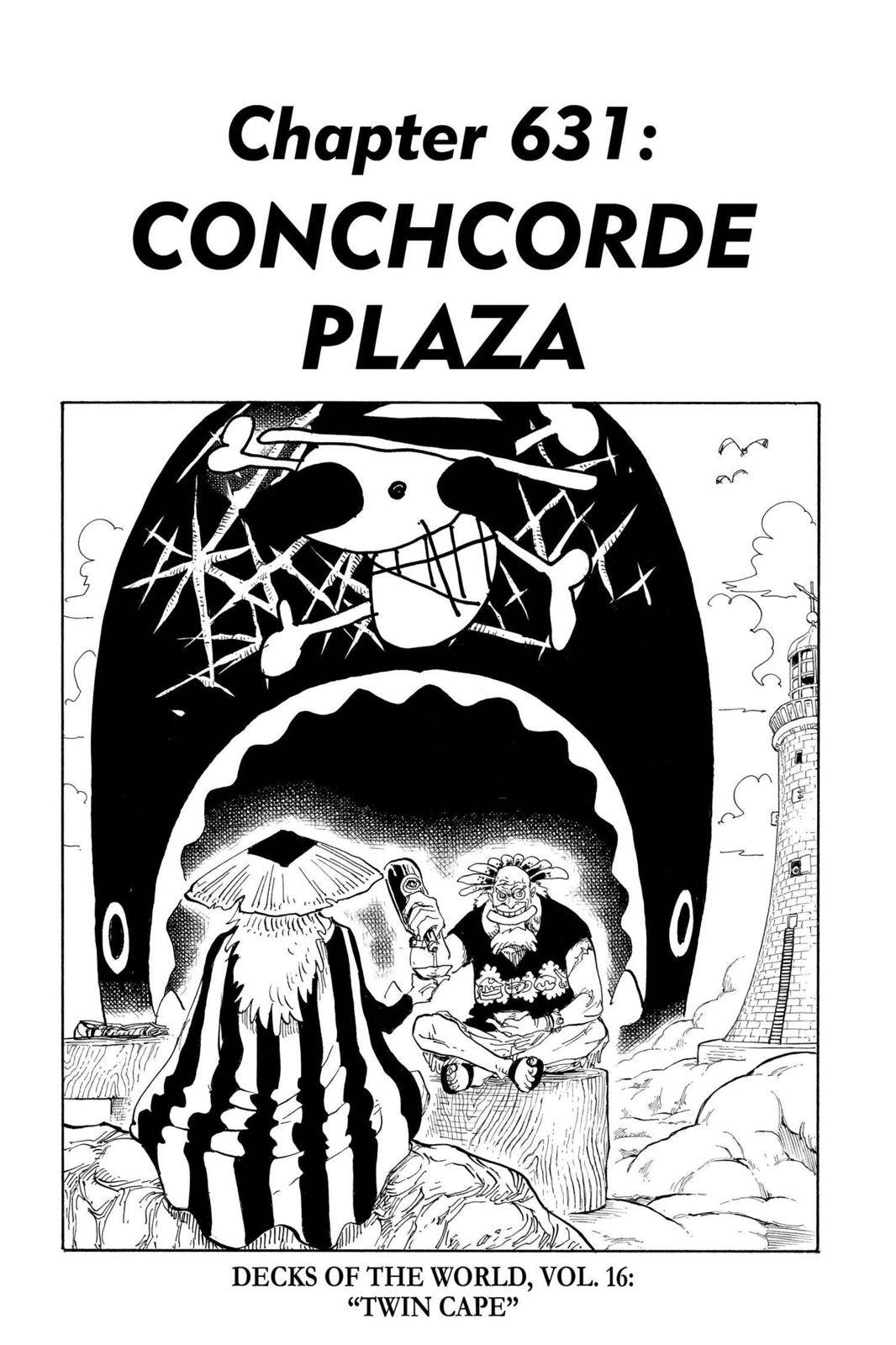 One Piece Chapter 631 Page 1
