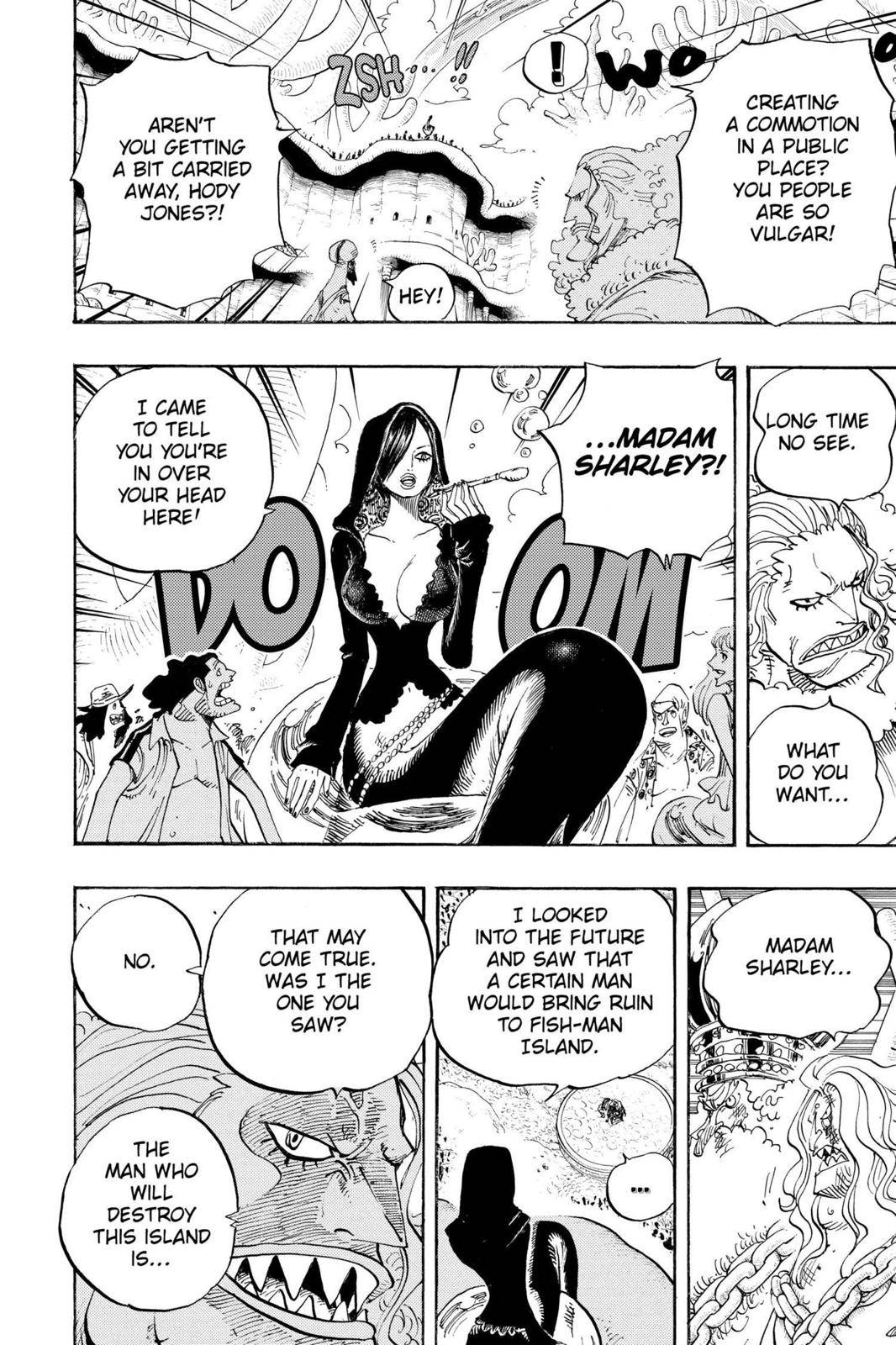 One Piece Chapter 632 Page 10
