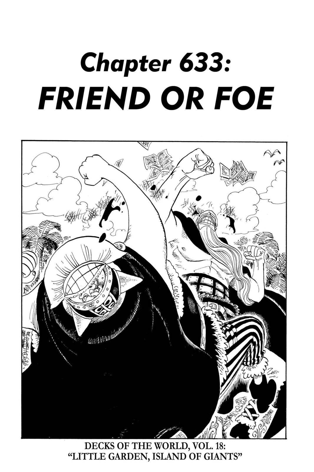 One Piece Chapter 633 Page 1