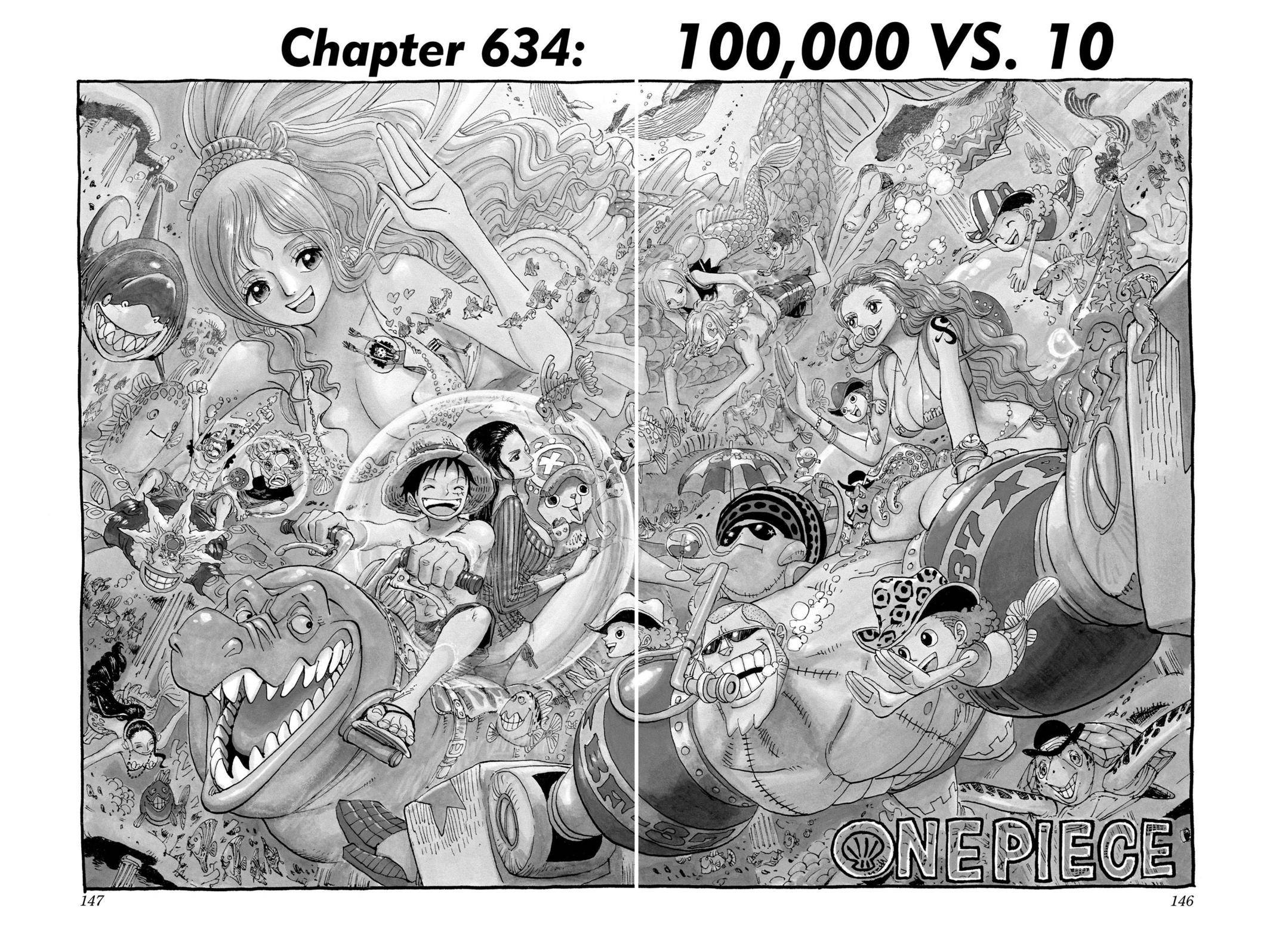 One Piece Chapter 634 Page 1